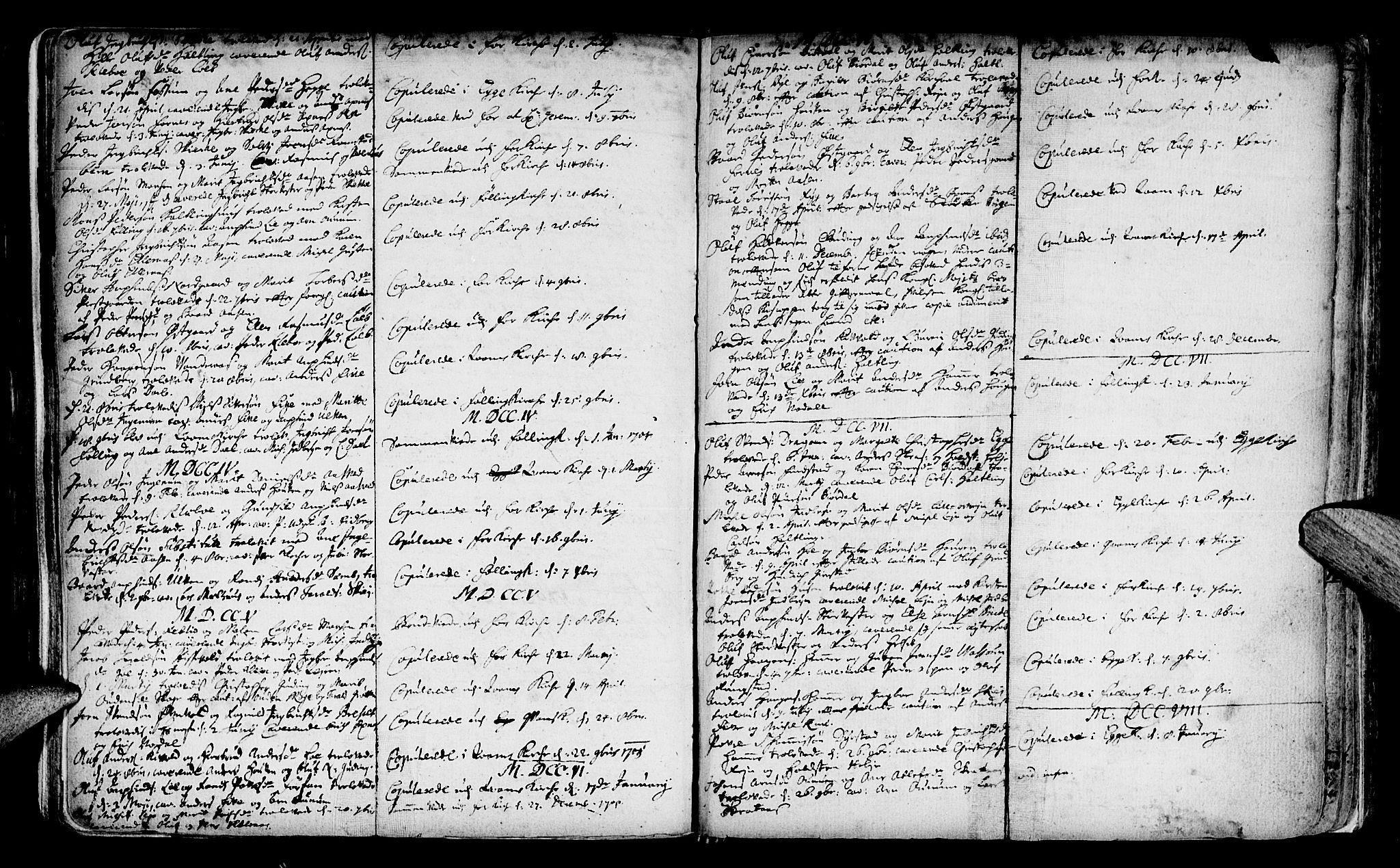 SAT, Ministerialprotokoller, klokkerbøker og fødselsregistre - Nord-Trøndelag, 746/L0439: Ministerialbok nr. 746A01, 1688-1759, s. 94