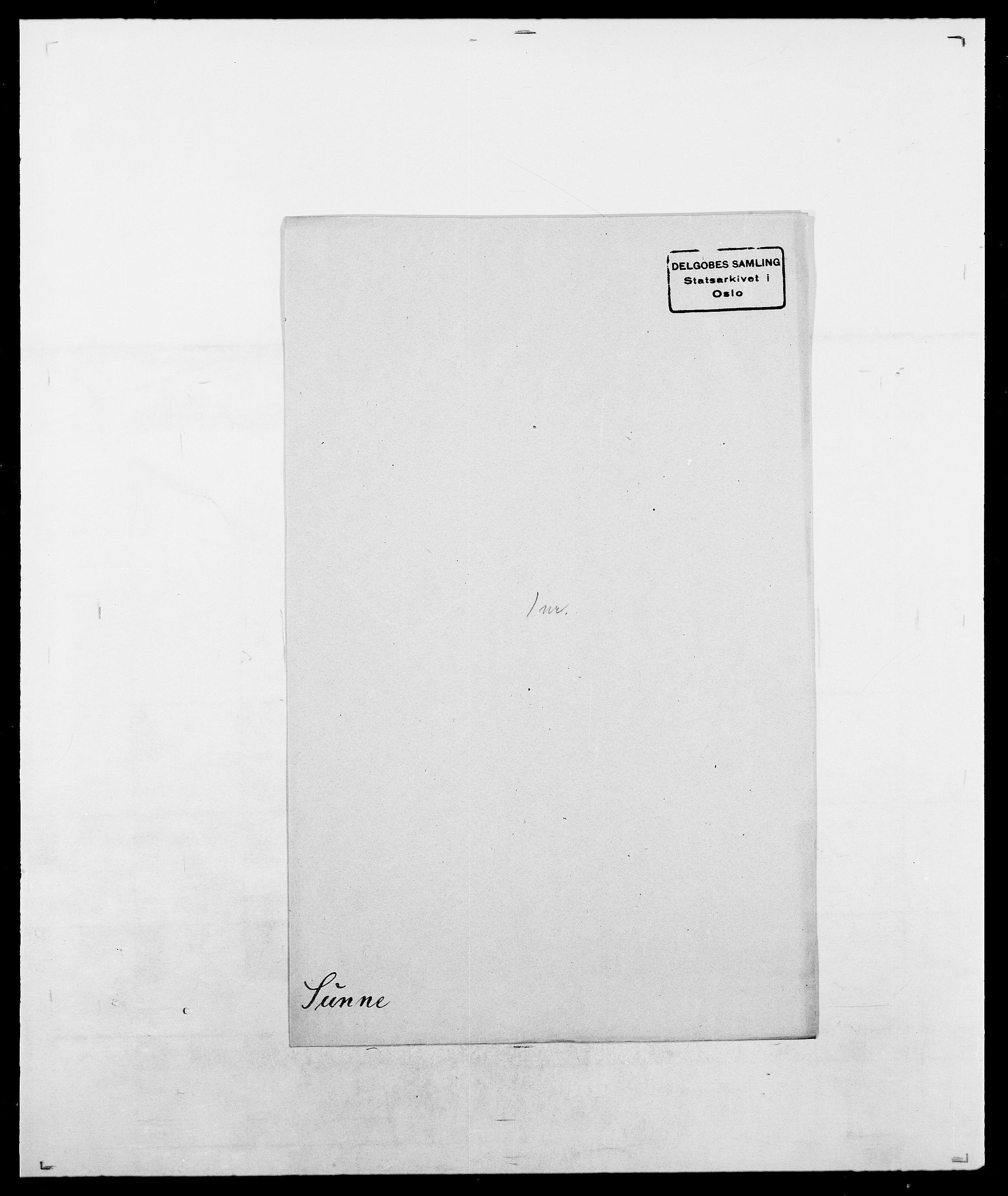 SAO, Delgobe, Charles Antoine - samling, D/Da/L0037: Steen, Sthen, Stein - Svare, Svanige, Svanne, se også Svanning og Schwane, s. 954