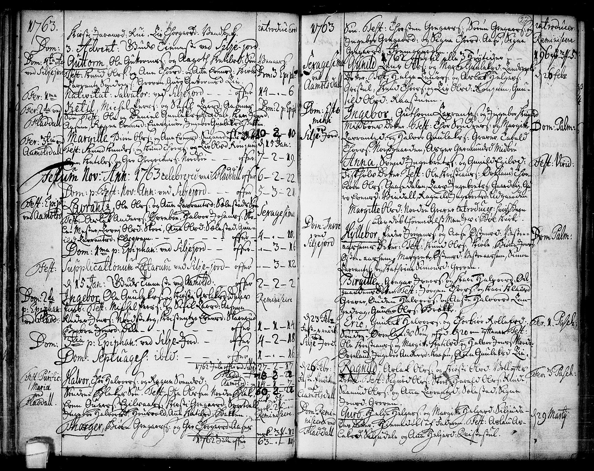 SAKO, Seljord kirkebøker, F/Fa/L0007: Ministerialbok nr. I 7, 1755-1800, s. 27