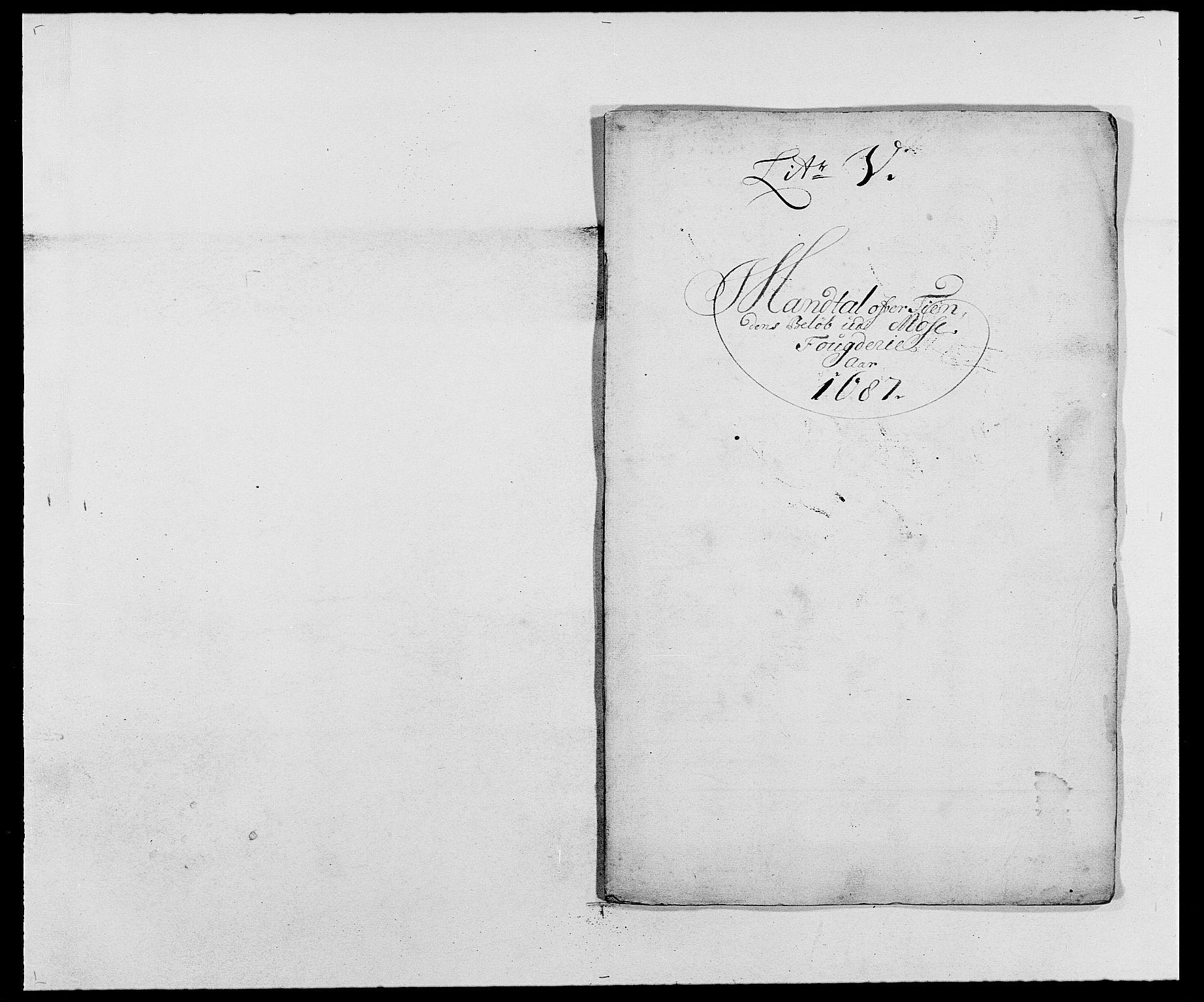 RA, Rentekammeret inntil 1814, Reviderte regnskaper, Fogderegnskap, R02/L0105: Fogderegnskap Moss og Verne kloster, 1685-1687, s. 302