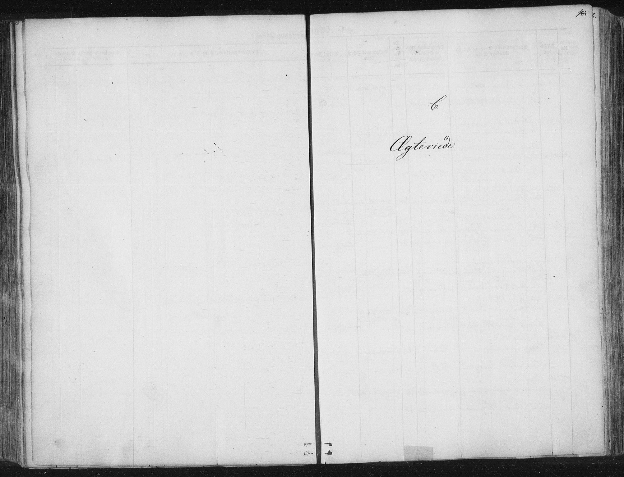 SAT, Ministerialprotokoller, klokkerbøker og fødselsregistre - Nord-Trøndelag, 741/L0392: Ministerialbok nr. 741A06, 1836-1848, s. 185