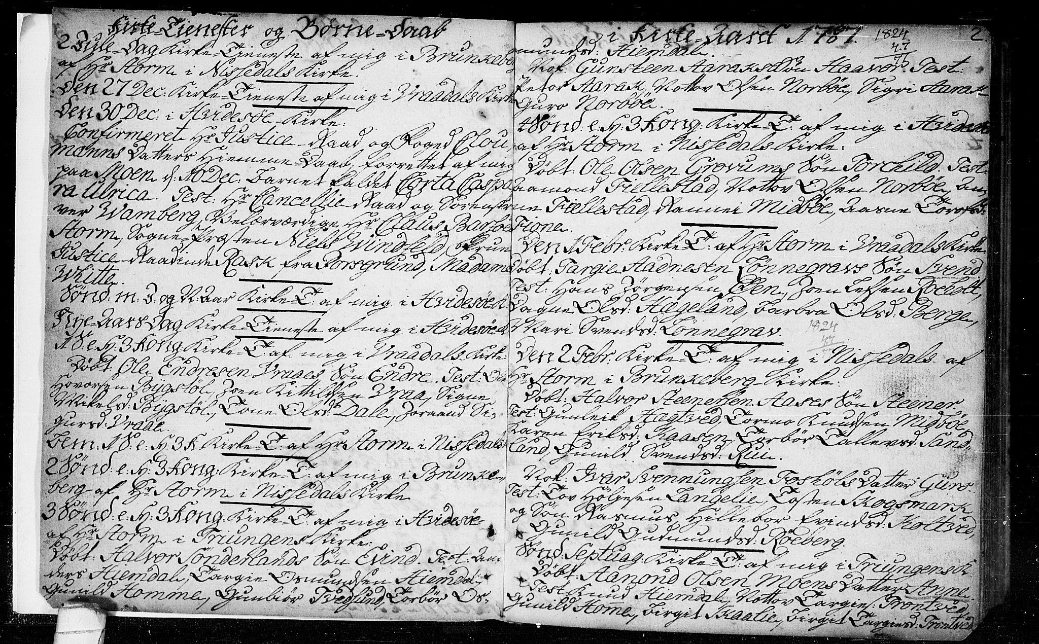 SAKO, Kviteseid kirkebøker, F/Fa/L0003: Ministerialbok nr. I 3, 1787-1799, s. 2