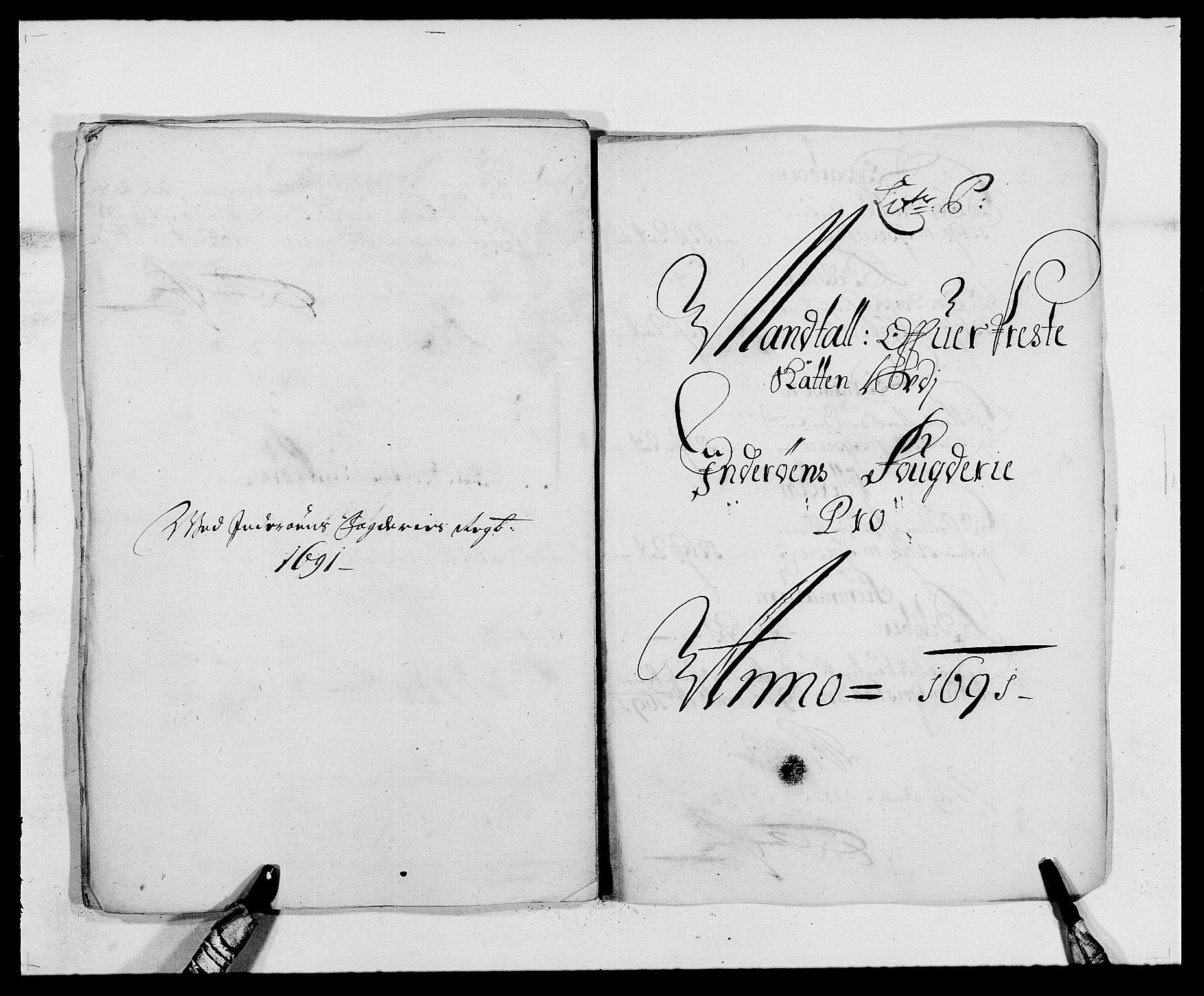 RA, Rentekammeret inntil 1814, Reviderte regnskaper, Fogderegnskap, R63/L4307: Fogderegnskap Inderøy, 1690-1691, s. 408