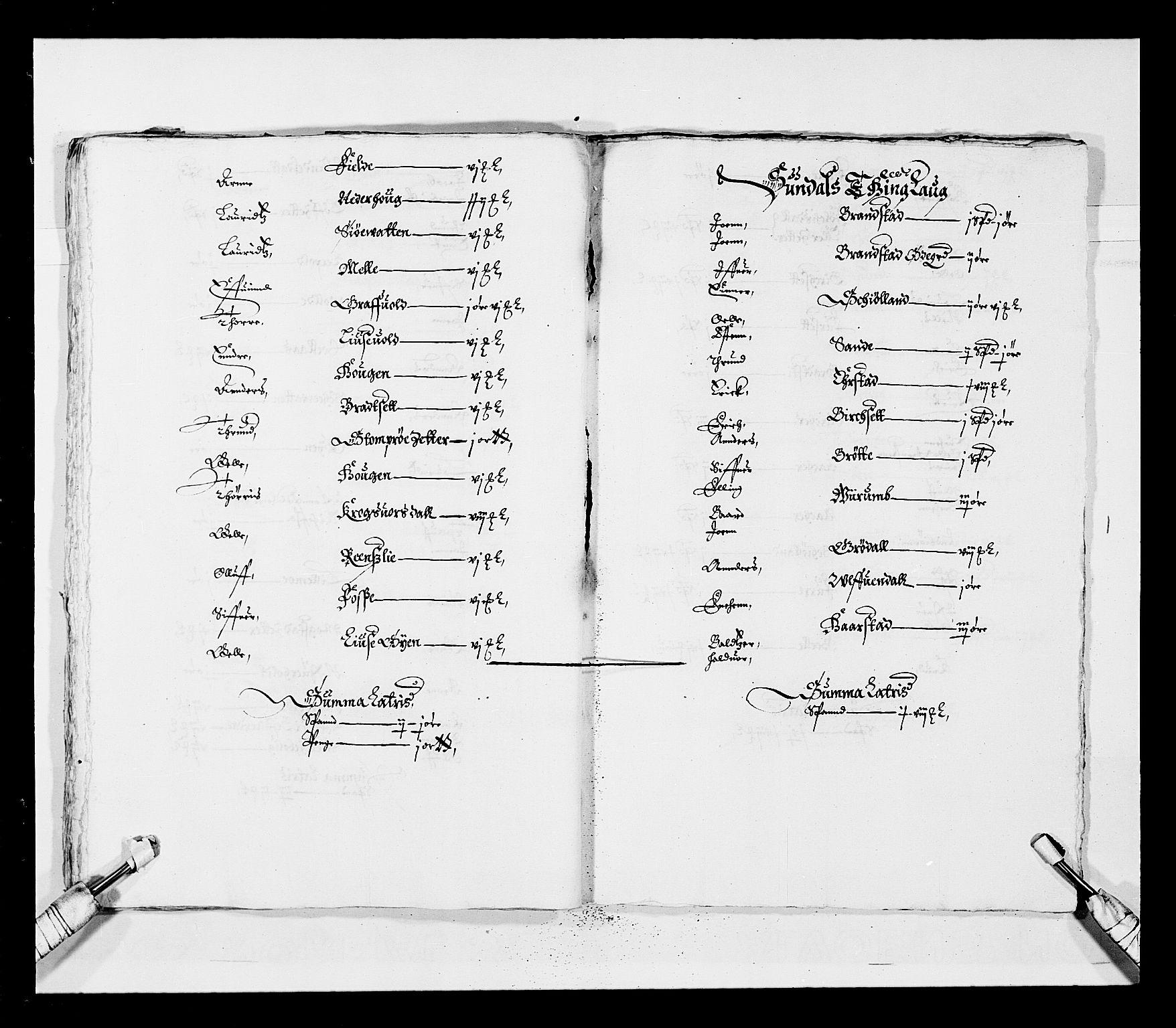 RA, Stattholderembetet 1572-1771, Ek/L0028: Jordebøker 1633-1658:, 1645-1646, s. 32