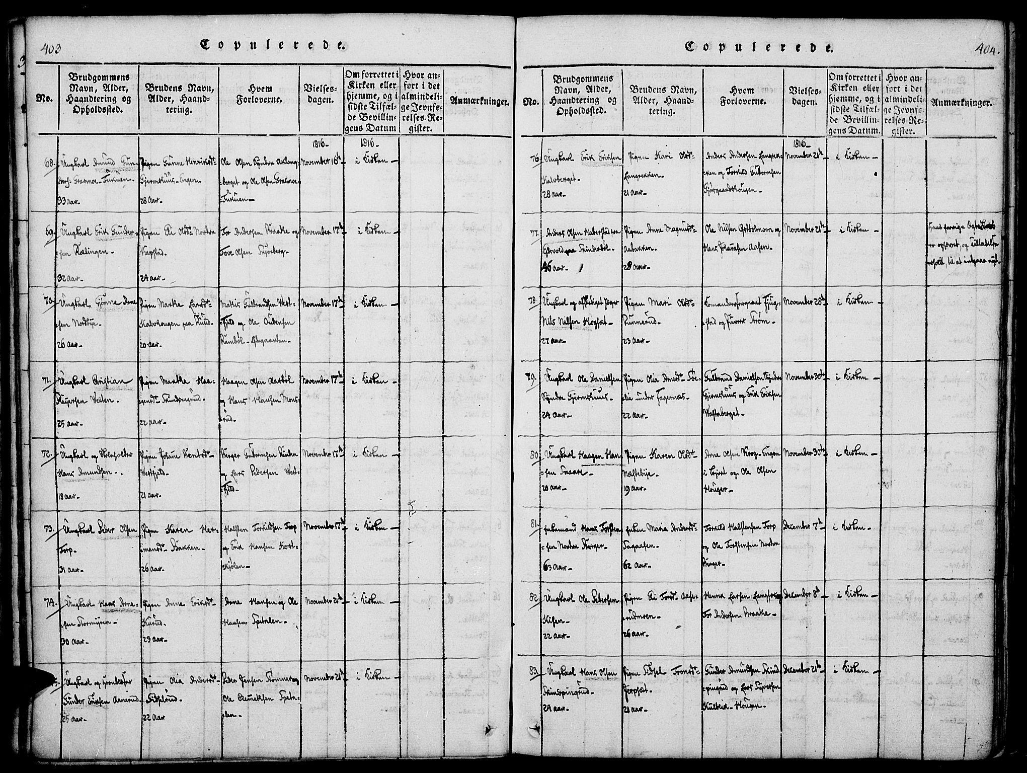 SAH, Vinger prestekontor, Ministerialbok nr. 6, 1814-1825, s. 403-404