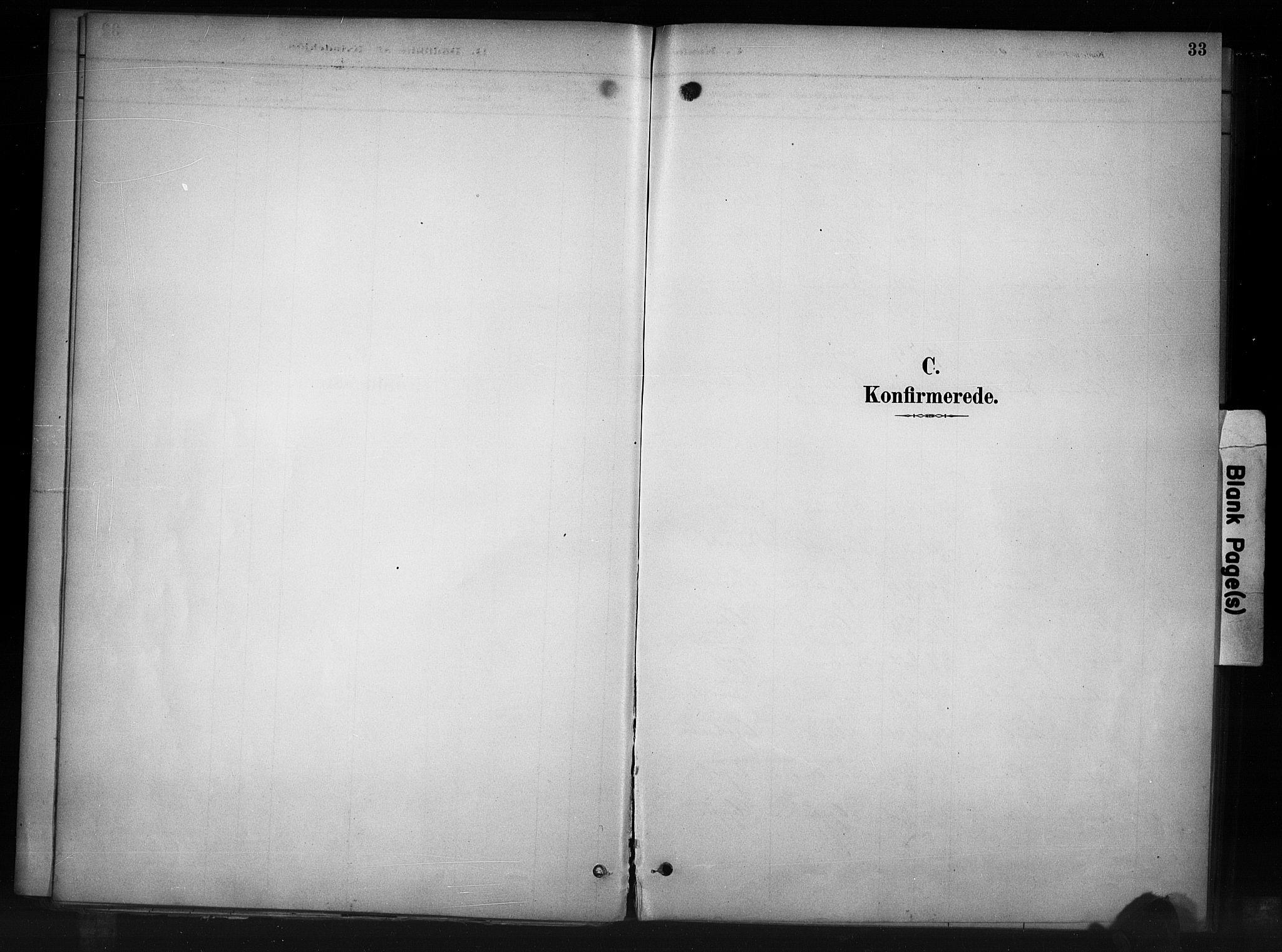 SAH, Nord-Aurdal prestekontor, Ministerialbok nr. 11, 1883-1896, s. 33