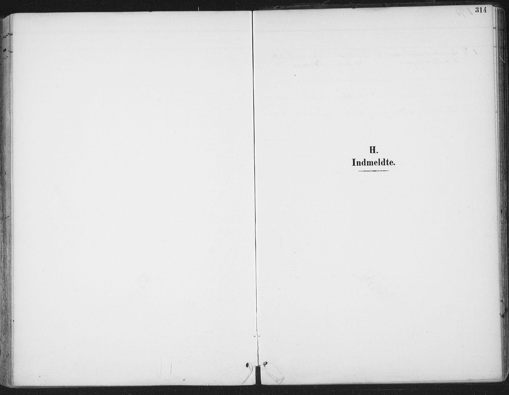 SAT, Ministerialprotokoller, klokkerbøker og fødselsregistre - Sør-Trøndelag, 659/L0743: Ministerialbok nr. 659A13, 1893-1910, s. 314