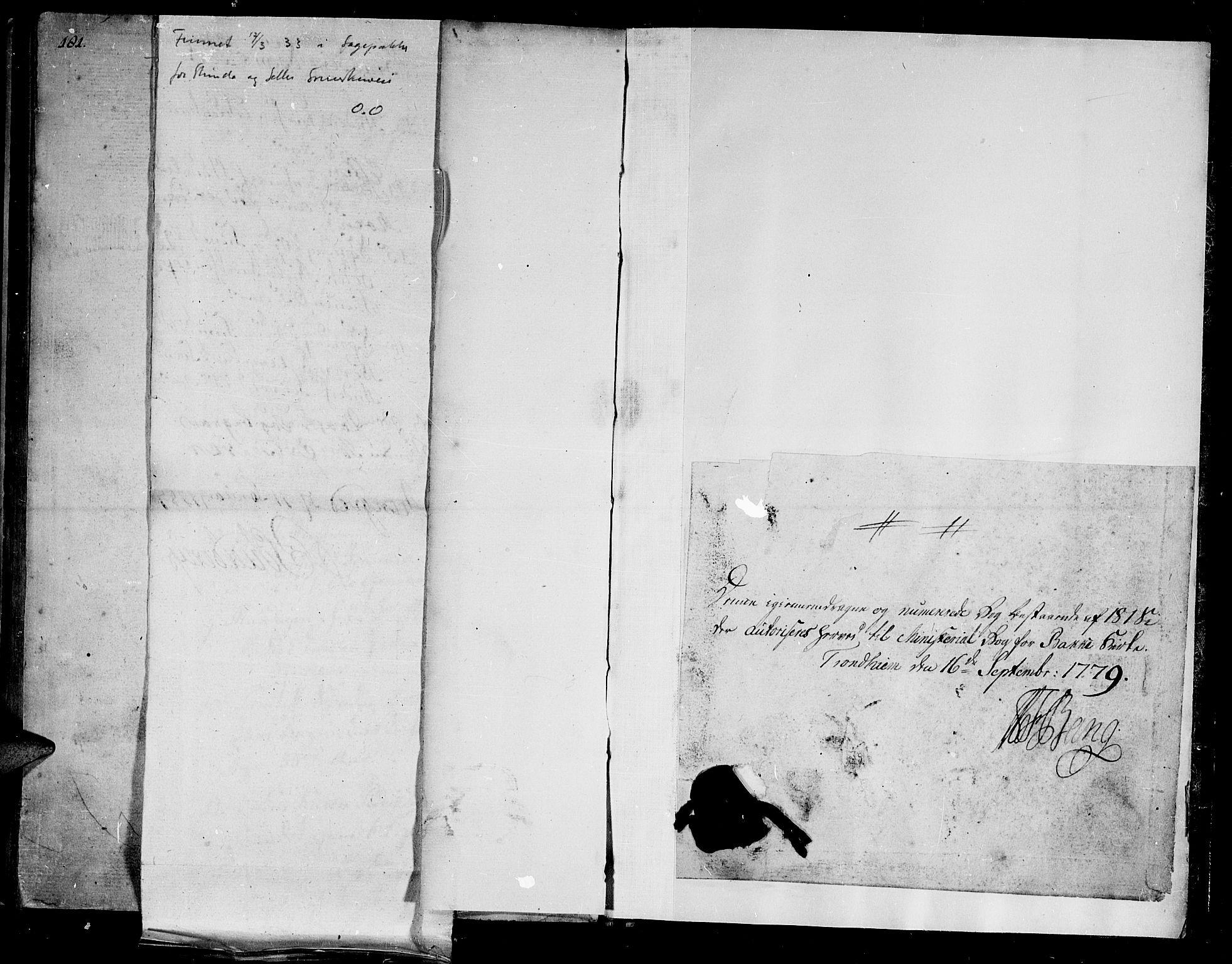 SAT, Ministerialprotokoller, klokkerbøker og fødselsregistre - Sør-Trøndelag, 604/L0180: Ministerialbok nr. 604A01, 1780-1797