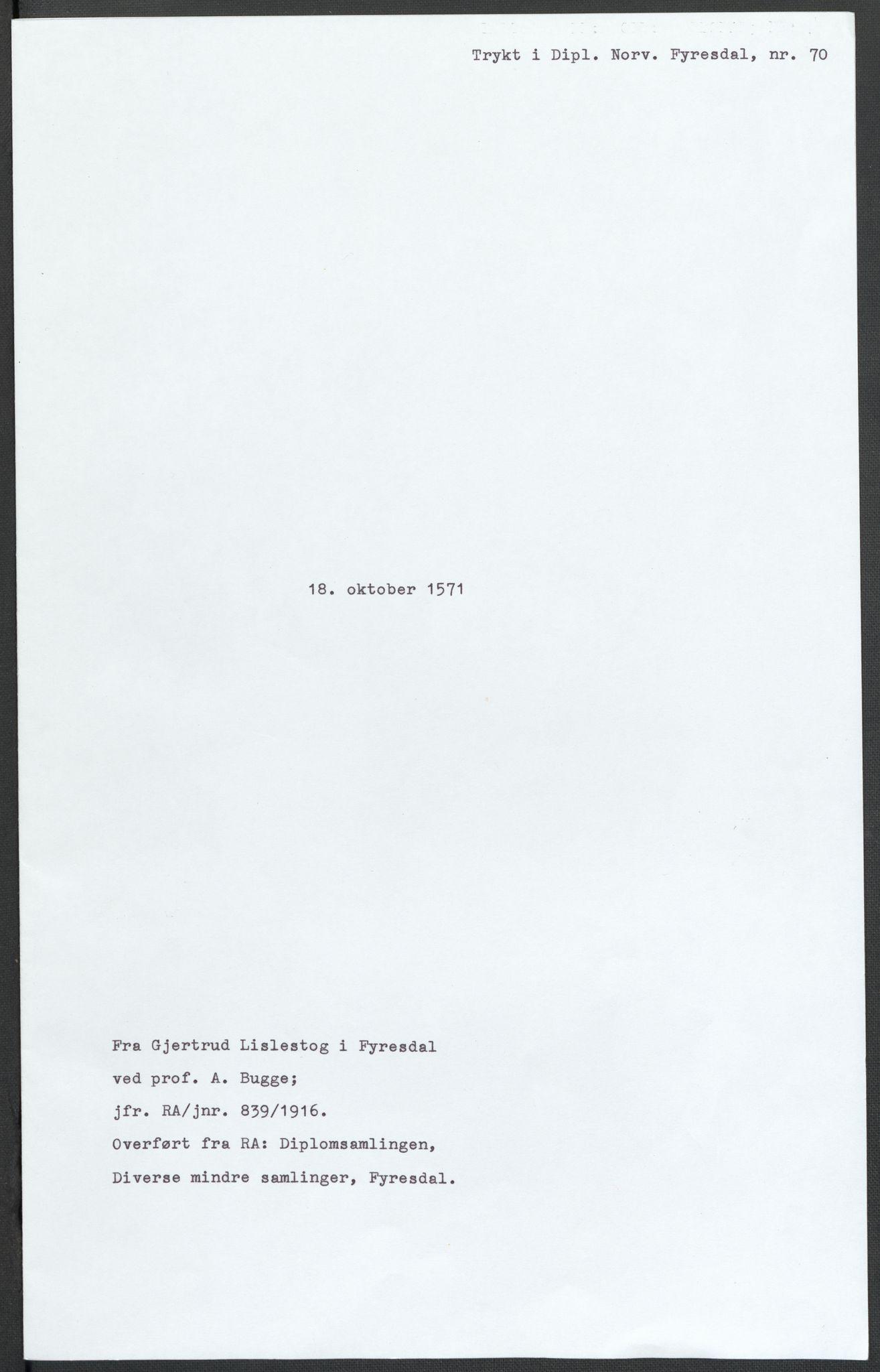 RA, Riksarkivets diplomsamling, F02/L0075: Dokumenter, 1570-1571, s. 65