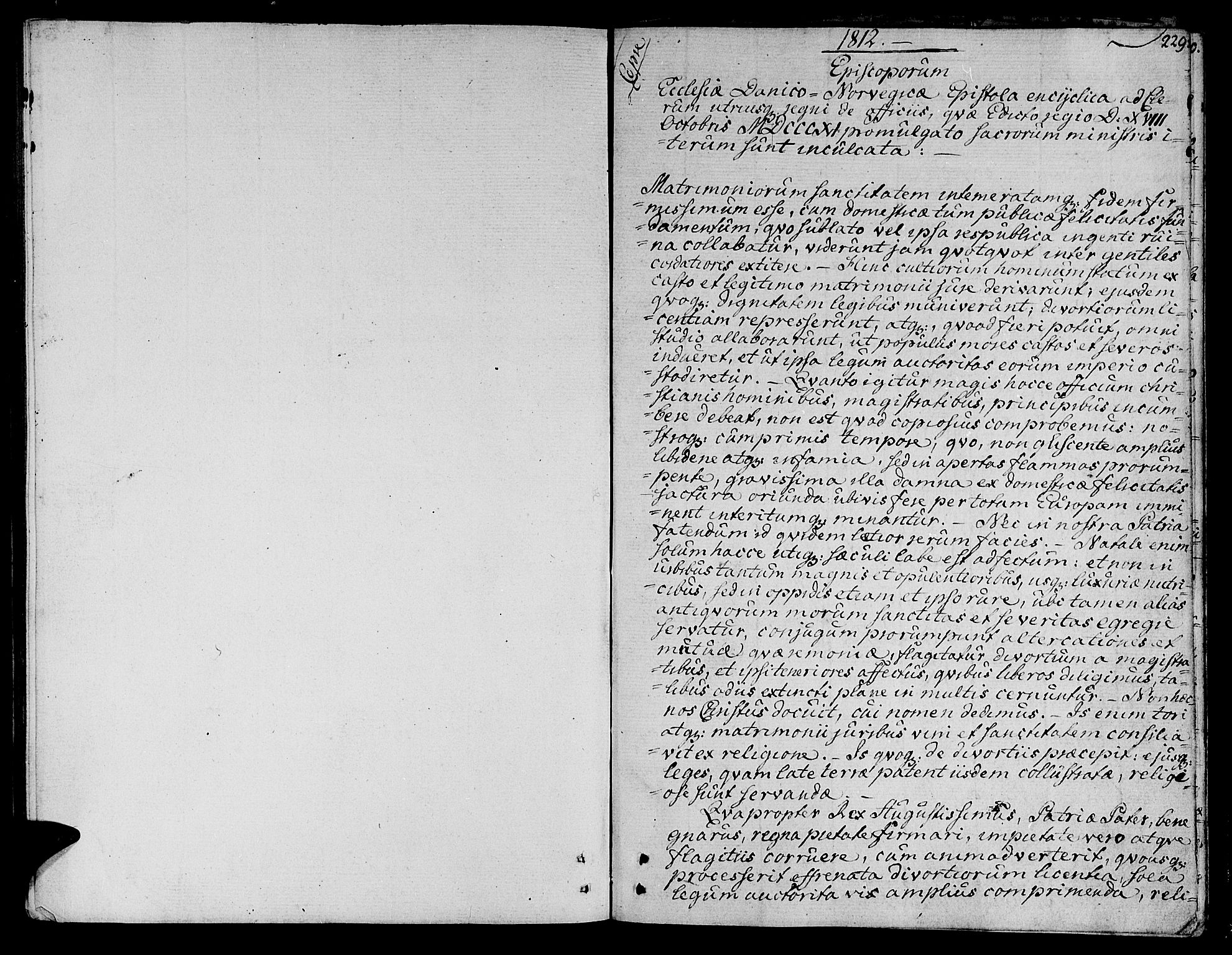 SAT, Ministerialprotokoller, klokkerbøker og fødselsregistre - Sør-Trøndelag, 695/L1140: Ministerialbok nr. 695A03, 1801-1815, s. 229