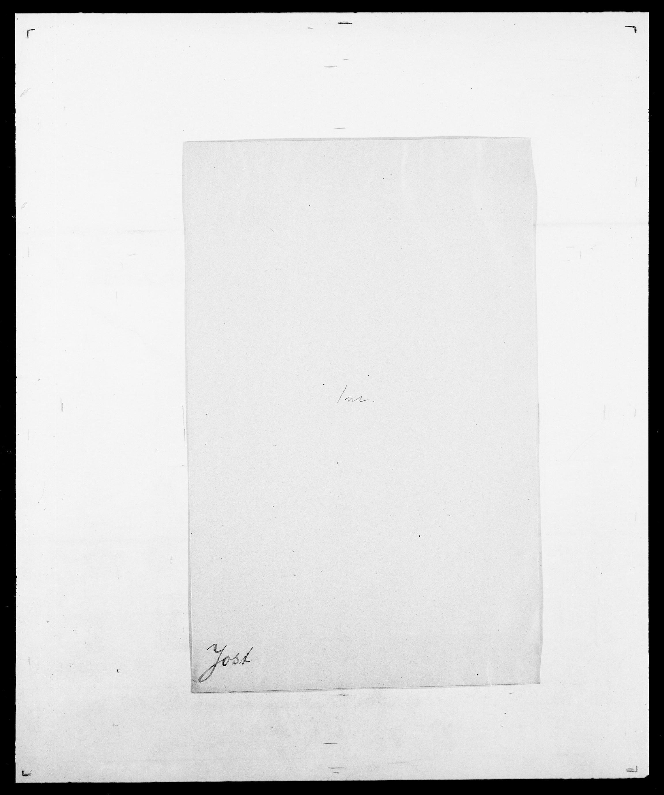 SAO, Delgobe, Charles Antoine - samling, D/Da/L0019: van der Hude - Joys, s. 917