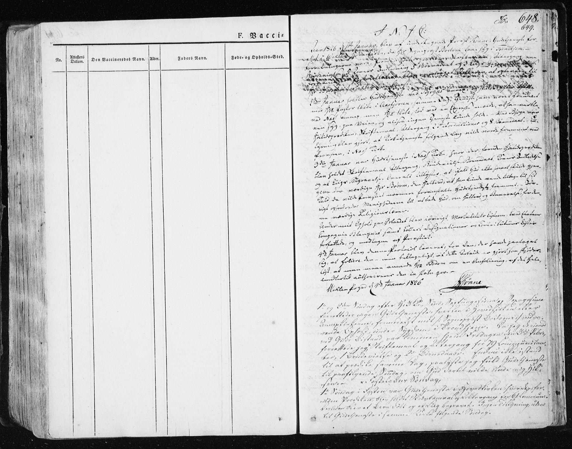 SAT, Ministerialprotokoller, klokkerbøker og fødselsregistre - Sør-Trøndelag, 659/L0735: Ministerialbok nr. 659A05, 1826-1841, s. 648