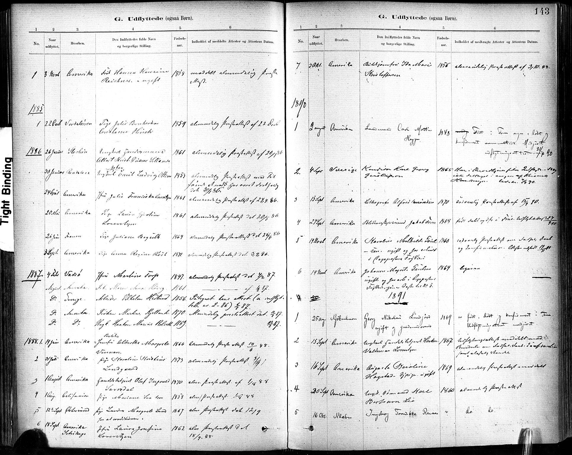 SAT, Ministerialprotokoller, klokkerbøker og fødselsregistre - Sør-Trøndelag, 602/L0120: Ministerialbok nr. 602A18, 1880-1913, s. 143