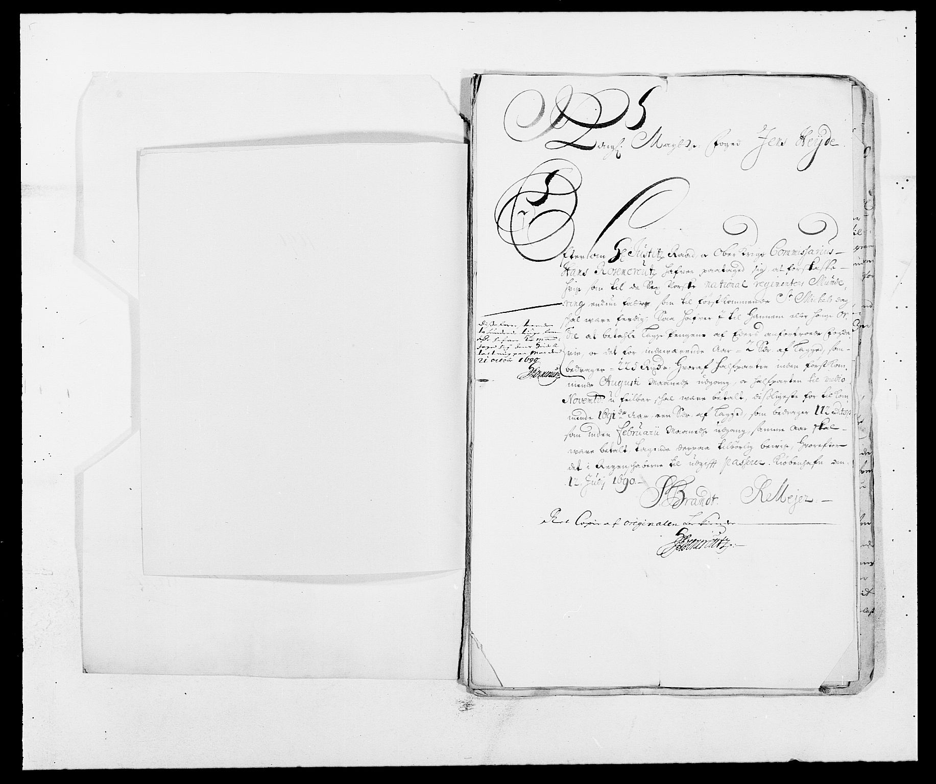 RA, Rentekammeret inntil 1814, Reviderte regnskaper, Fogderegnskap, R09/L0436: Fogderegnskap Follo, 1685-1691, s. 180