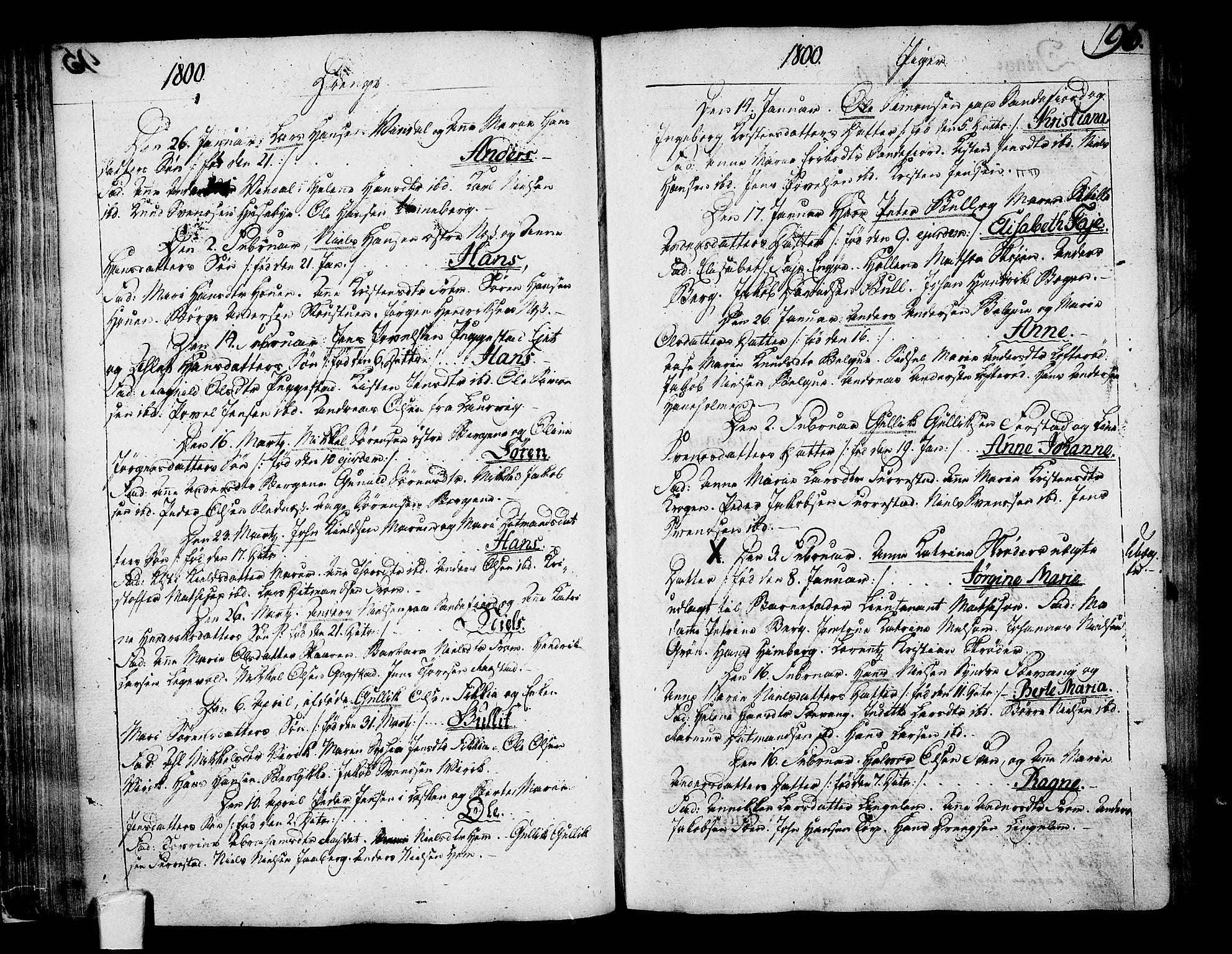 SAKO, Sandar kirkebøker, F/Fa/L0003: Ministerialbok nr. 3, 1789-1814, s. 96