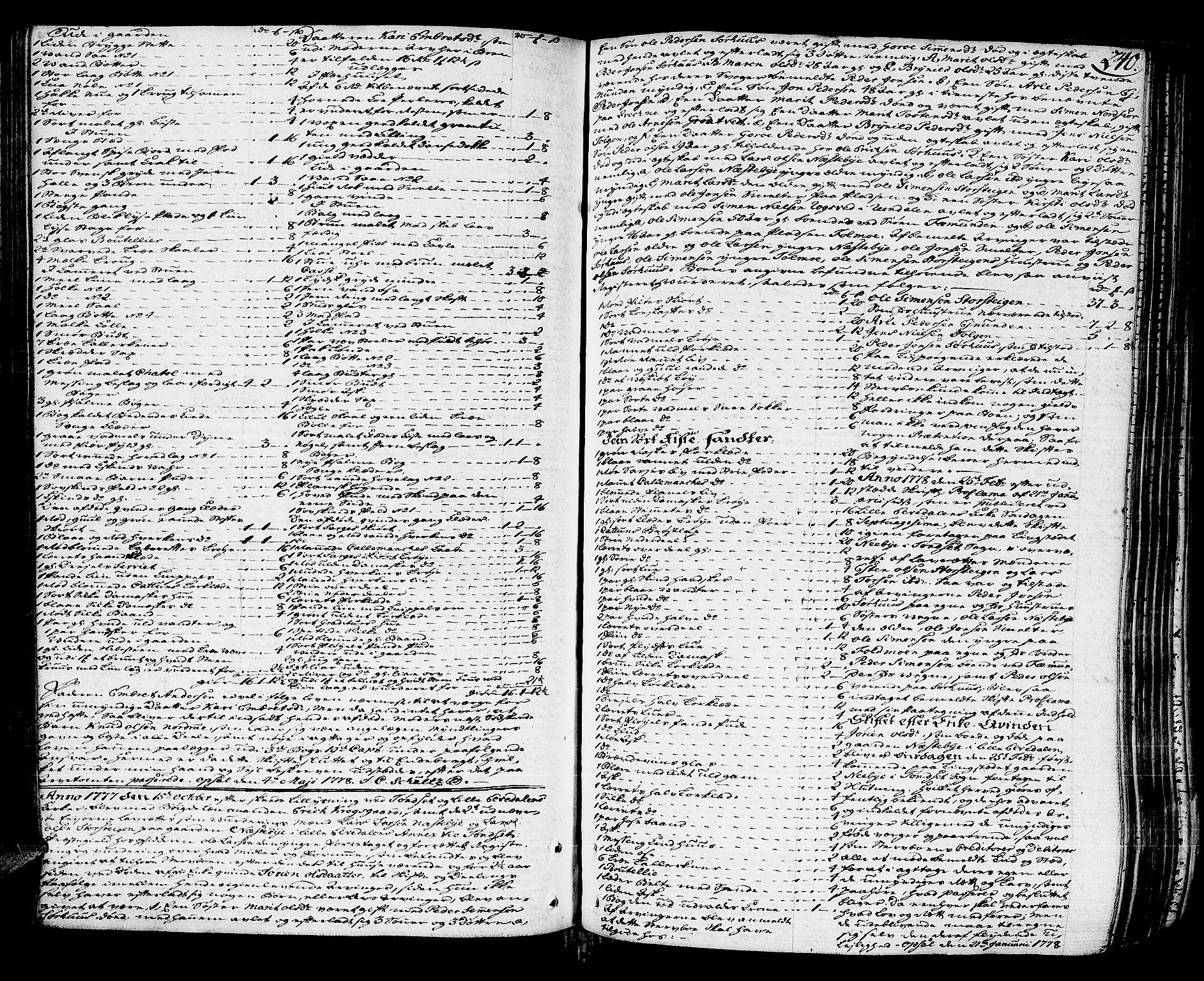 SAH, Østerdalen sorenskriveri, J/Ja/L0003: Skifteprotokoll, 1776-1781, s. 239b-240a