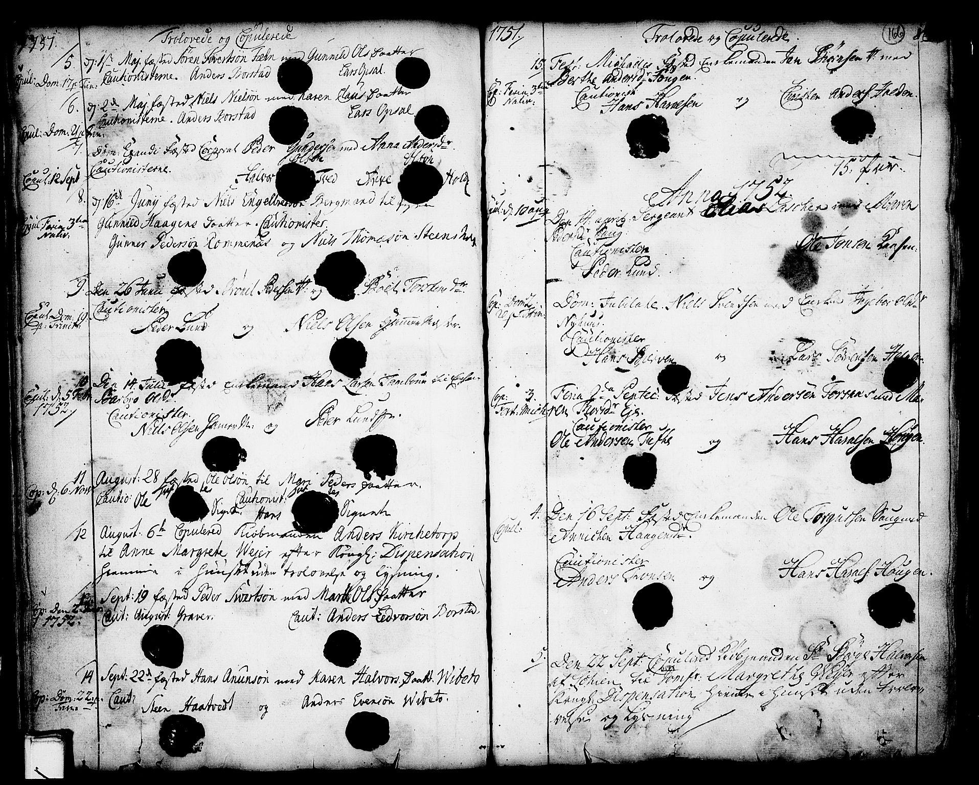 SAKO, Holla kirkebøker, F/Fa/L0001: Ministerialbok nr. 1, 1717-1779, s. 166