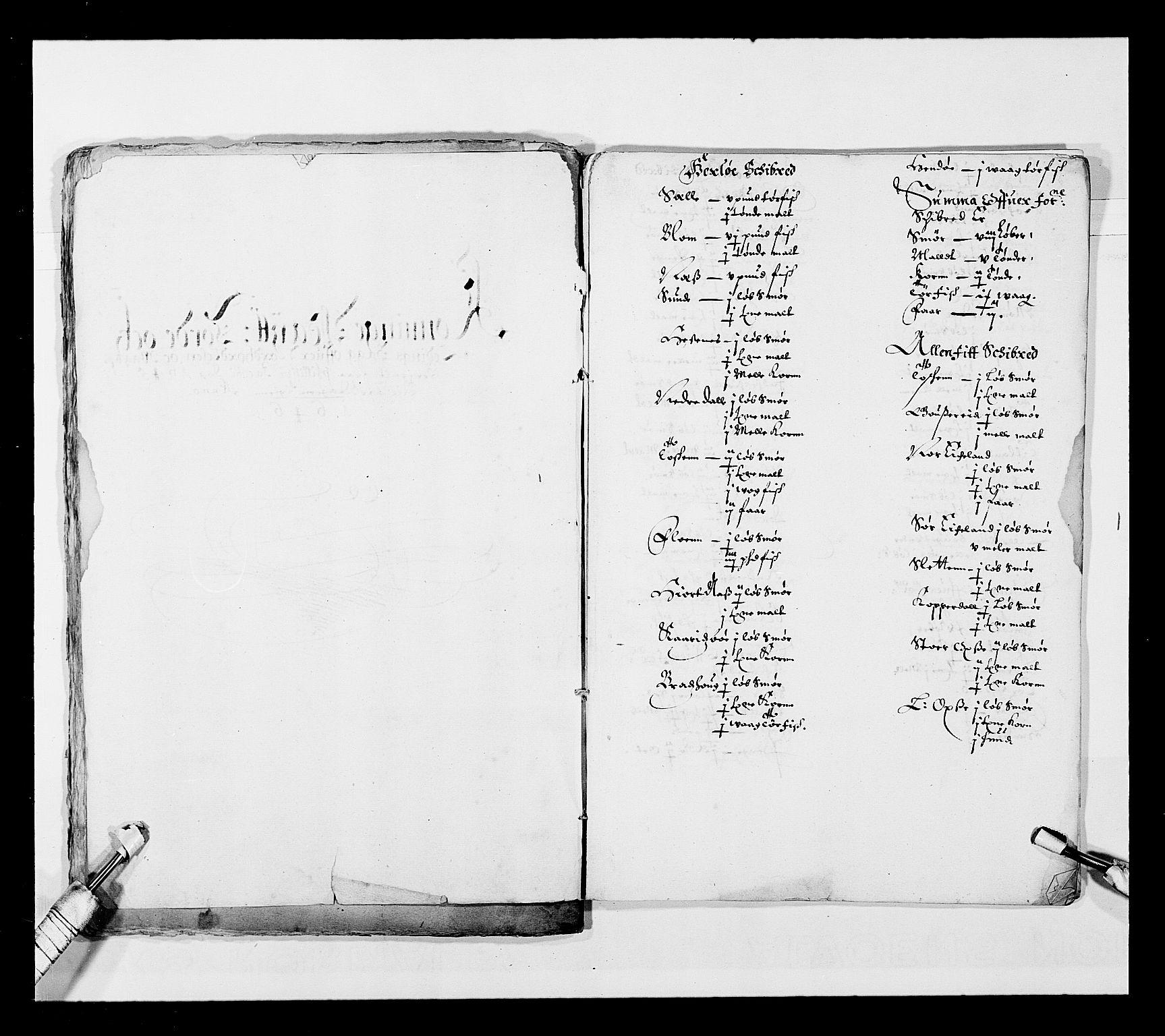 RA, Stattholderembetet 1572-1771, Ek/L0025: Jordebøker 1633-1658:, 1645-1646, s. 75