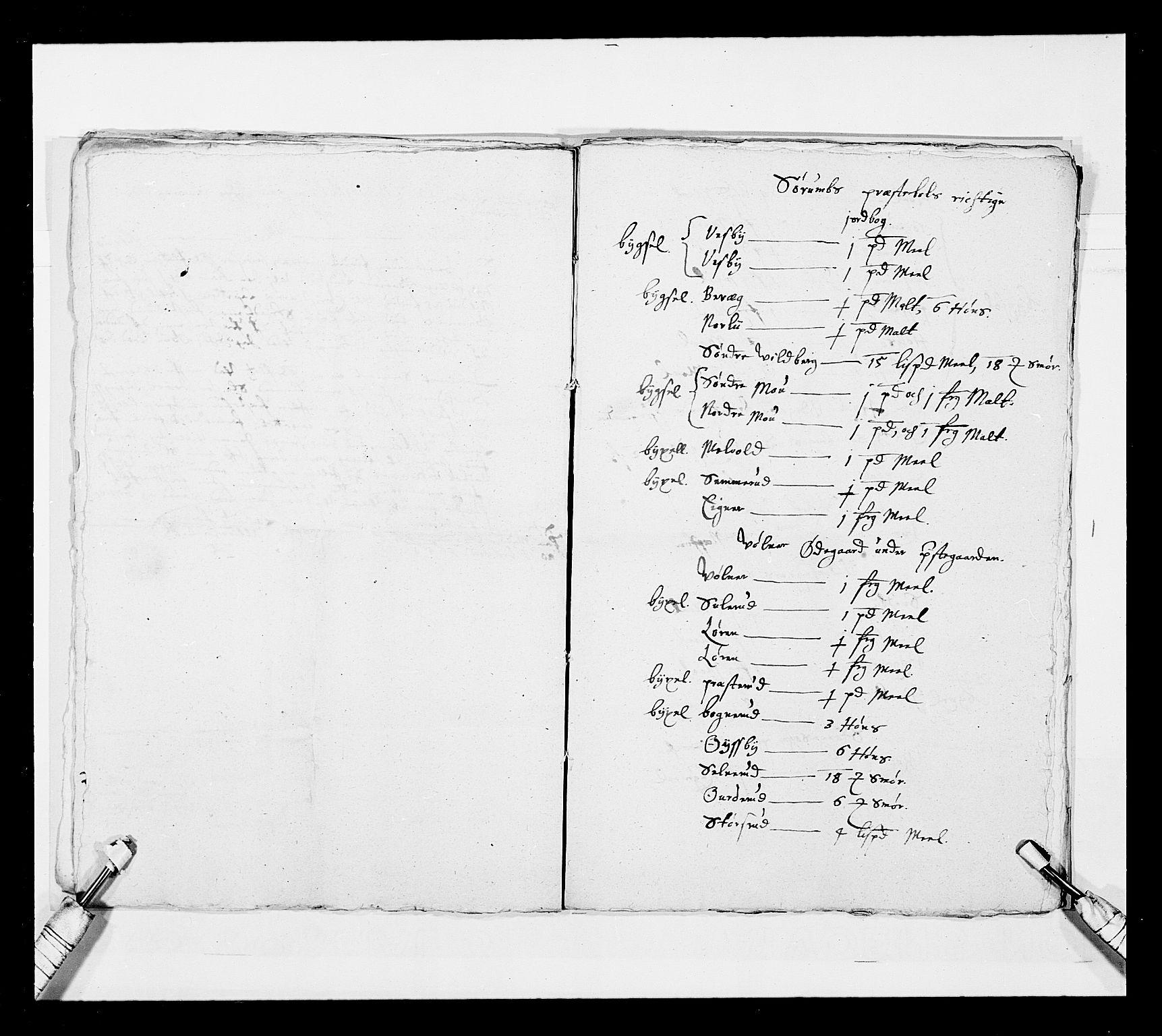 RA, Stattholderembetet 1572-1771, Ek/L0030: Jordebøker 1633-1658:, 1654, s. 206