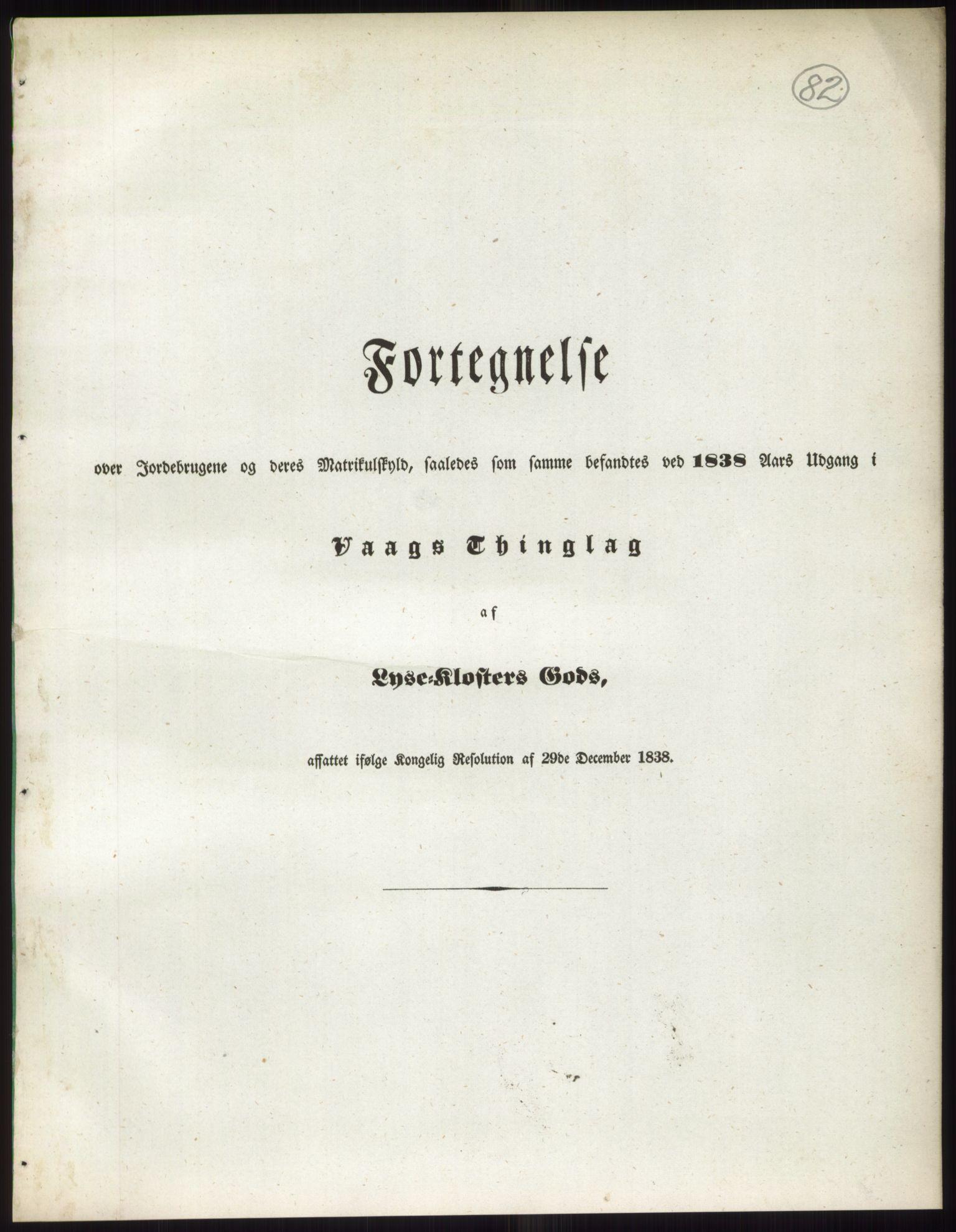 RA, 1838-matrikkelen (publikasjon)*, 1838, s. 82