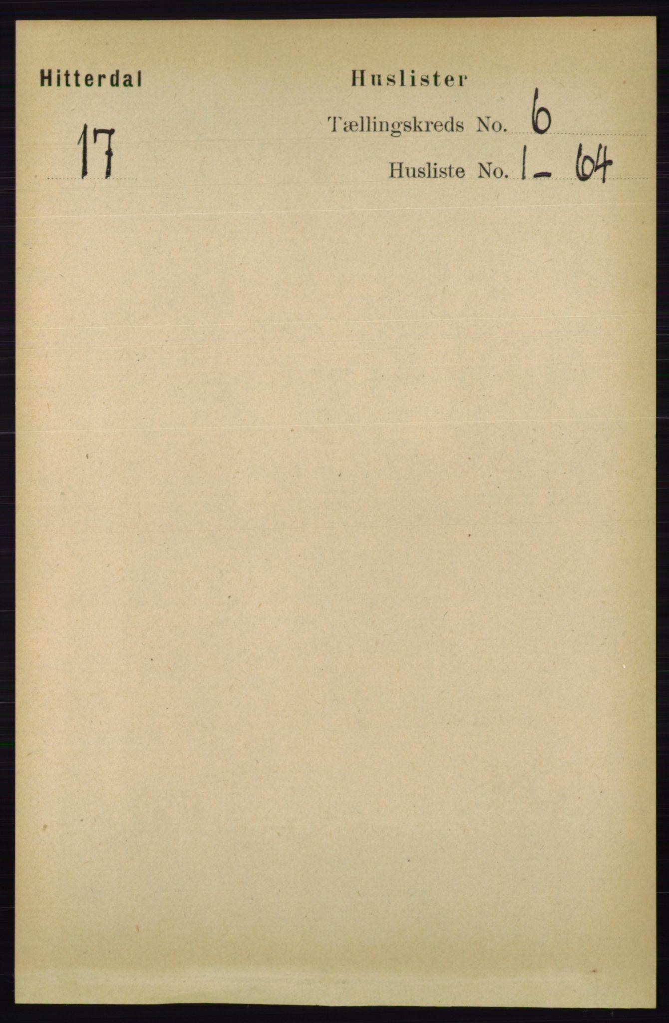 RA, Folketelling 1891 for 0823 Heddal herred, 1891, s. 2526