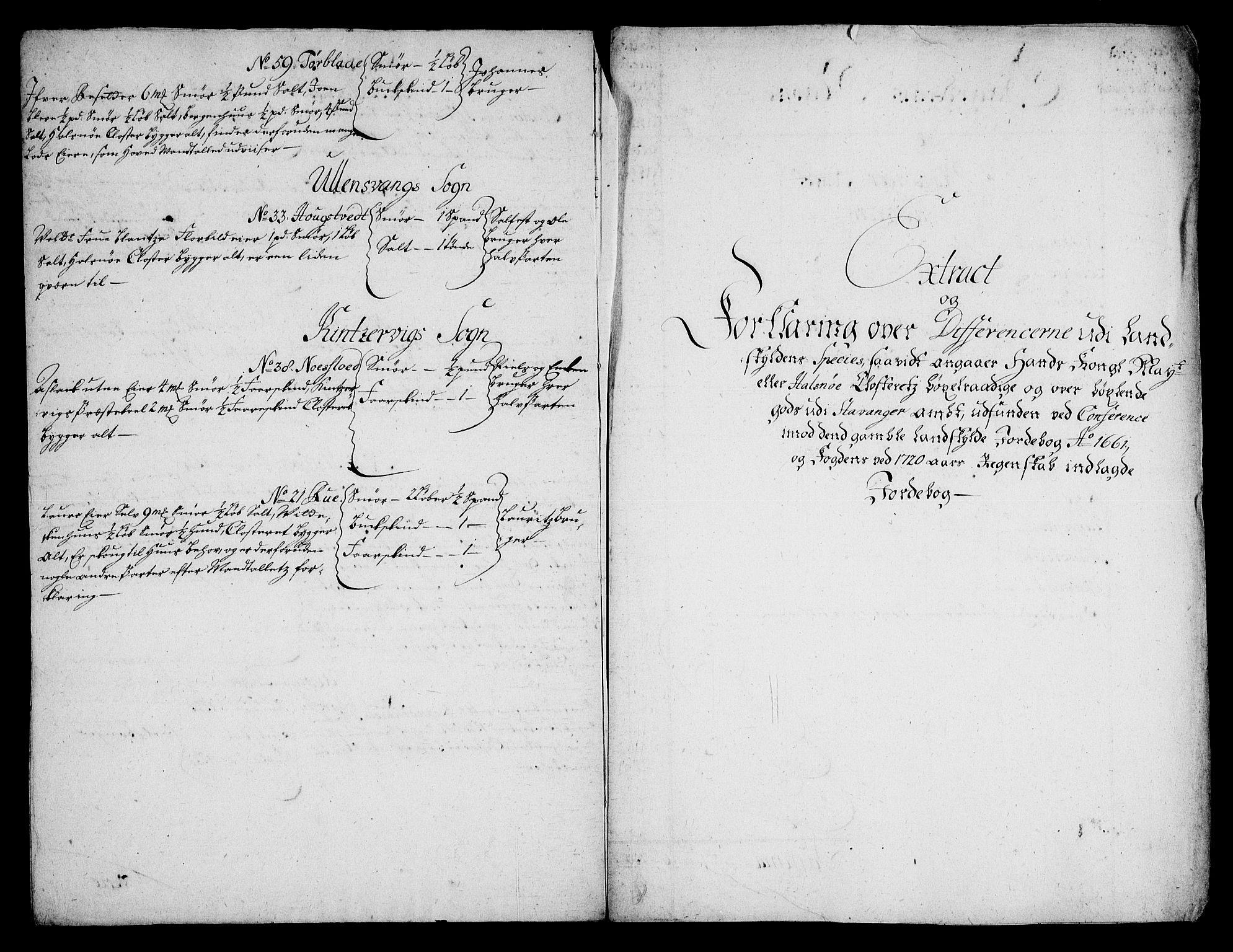 RA, Rentekammeret inntil 1814, Realistisk ordnet avdeling, On/L0005: [Jj 6]: Forskjellige dokumenter om Halsnøy klosters gods, 1697-1770, s. 406