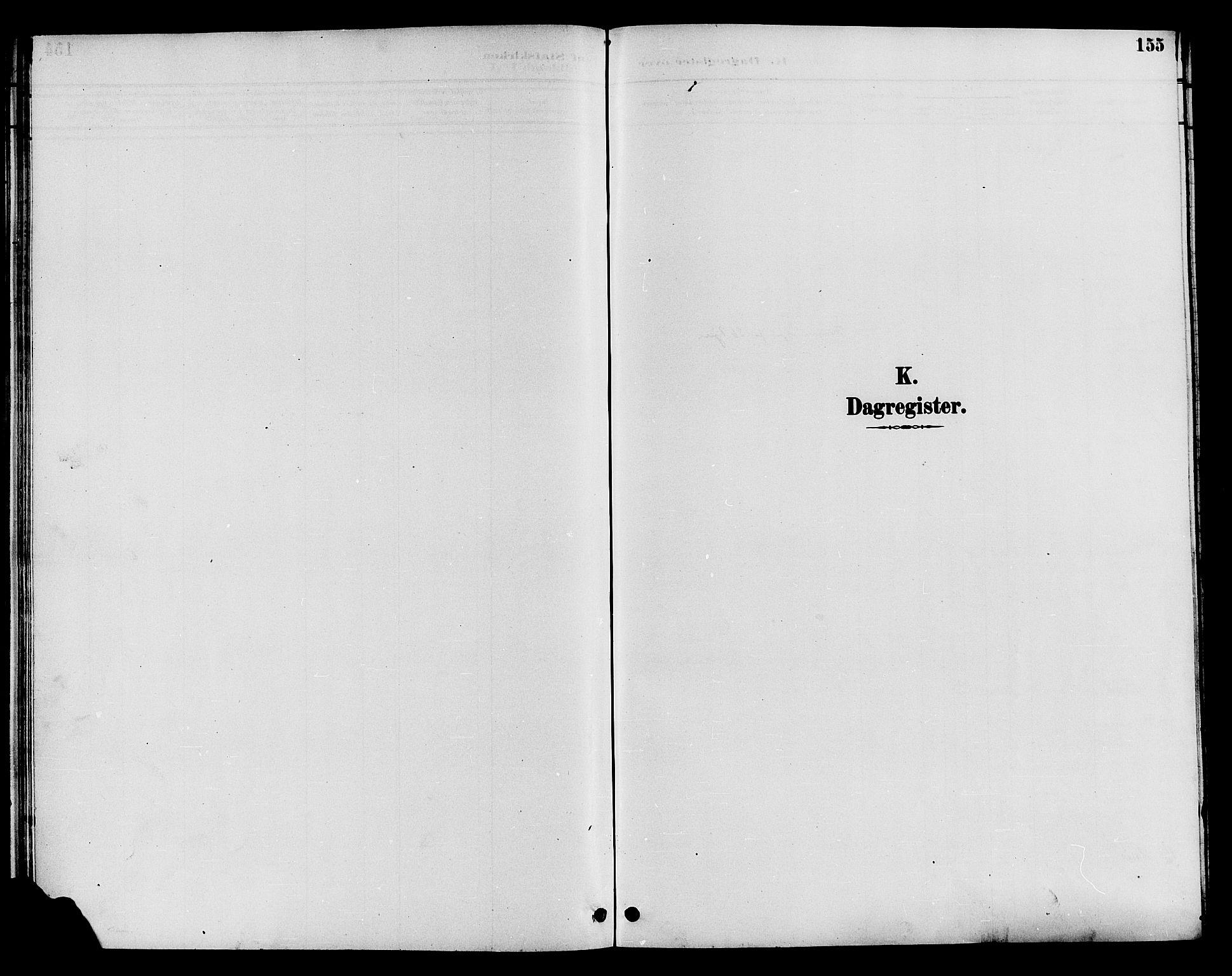 SAH, Øystre Slidre prestekontor, Klokkerbok nr. 4, 1887-1907, s. 155