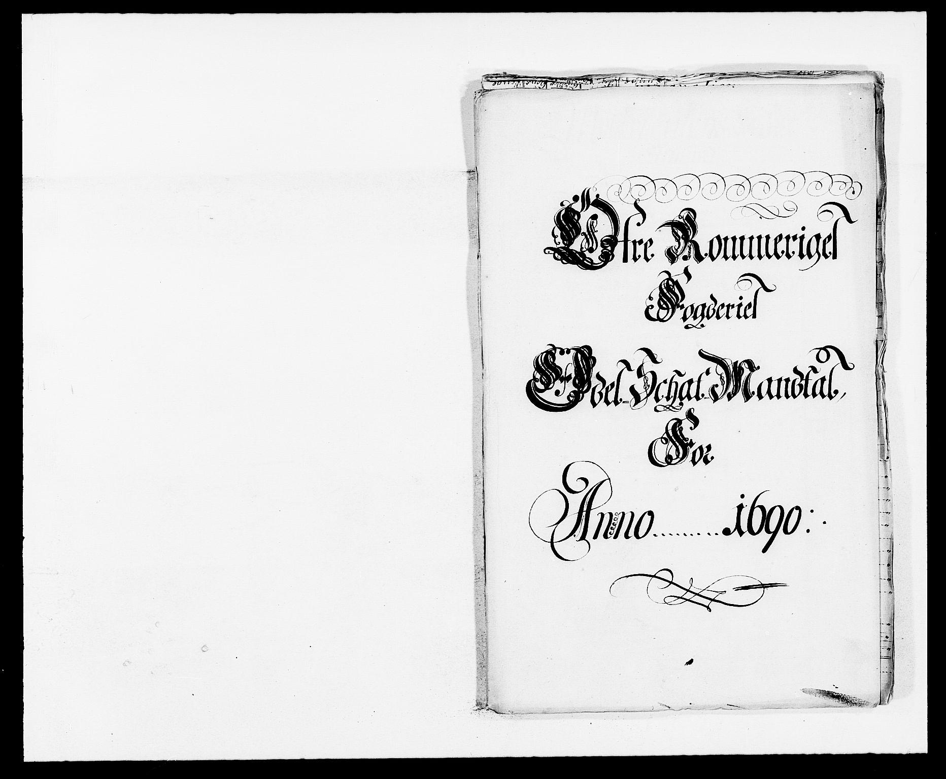 RA, Rentekammeret inntil 1814, Reviderte regnskaper, Fogderegnskap, R12/L0702: Fogderegnskap Øvre Romerike, 1690, s. 144