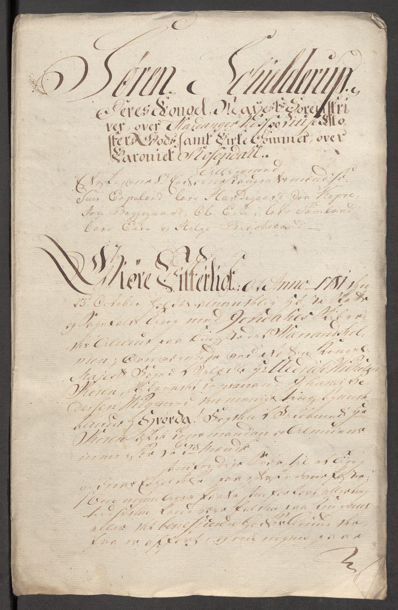 RA, Rentekammeret inntil 1814, Reviderte regnskaper, Fogderegnskap, R48/L3097: Fogderegnskap Sunnhordland og Hardanger, 1781, s. 225