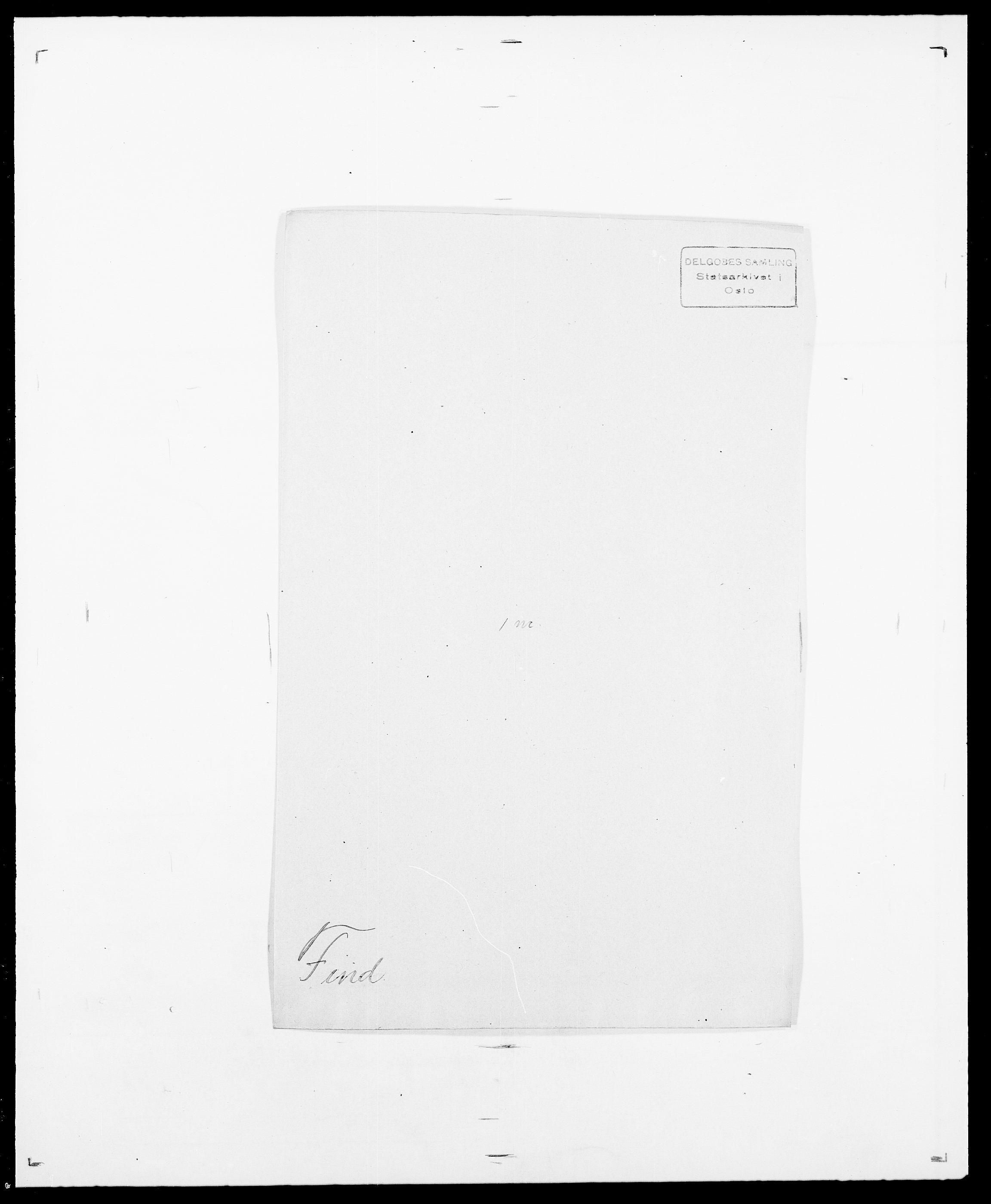 SAO, Delgobe, Charles Antoine - samling, D/Da/L0011: Fahlander - Flood, Flod, s. 461