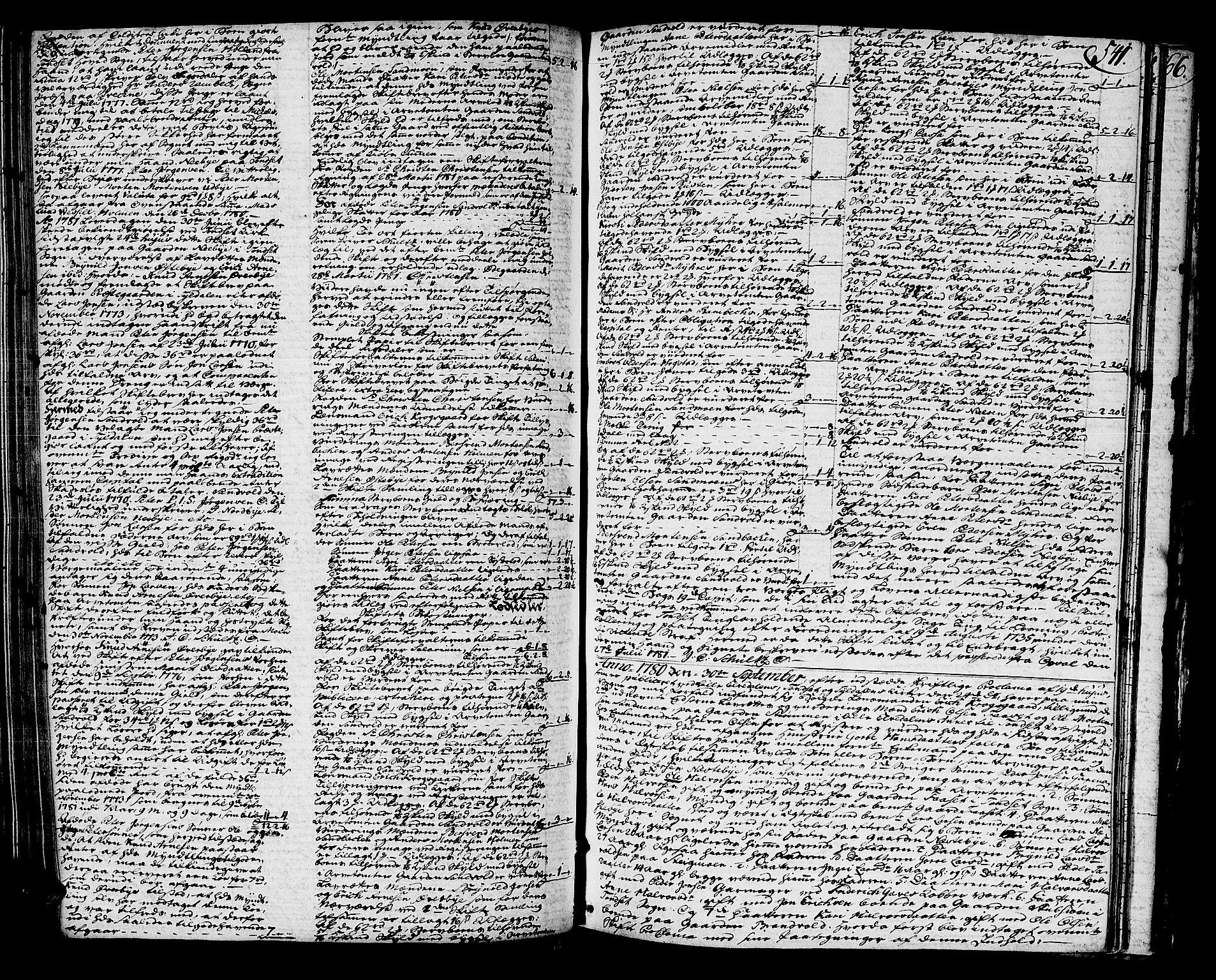 SAH, Østerdalen sorenskriveri, J/Ja/L0003: Skifteprotokoll, 1776-1781, s. 540b-541a