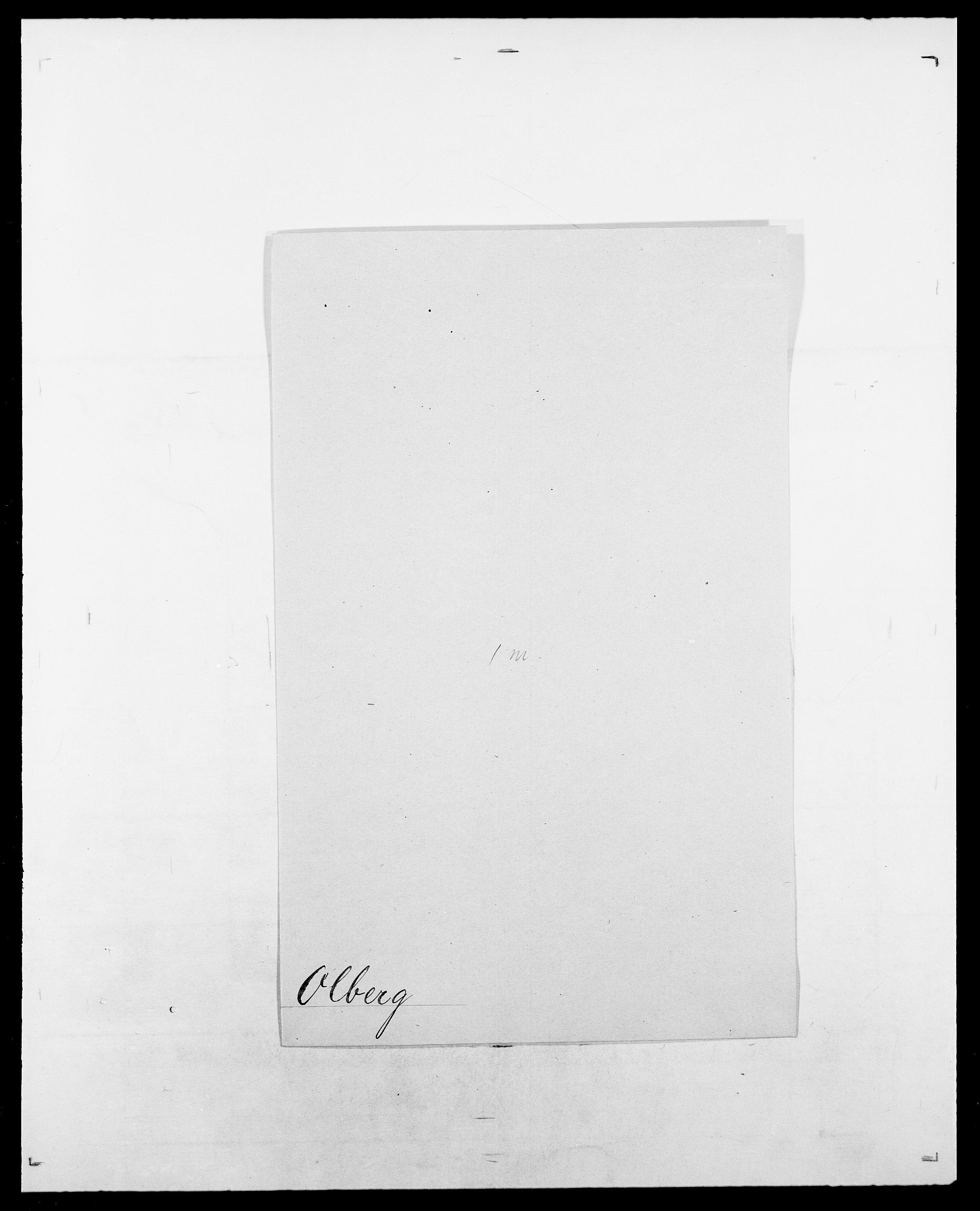 SAO, Delgobe, Charles Antoine - samling, D/Da/L0029: Obel - Oxholm, s. 91