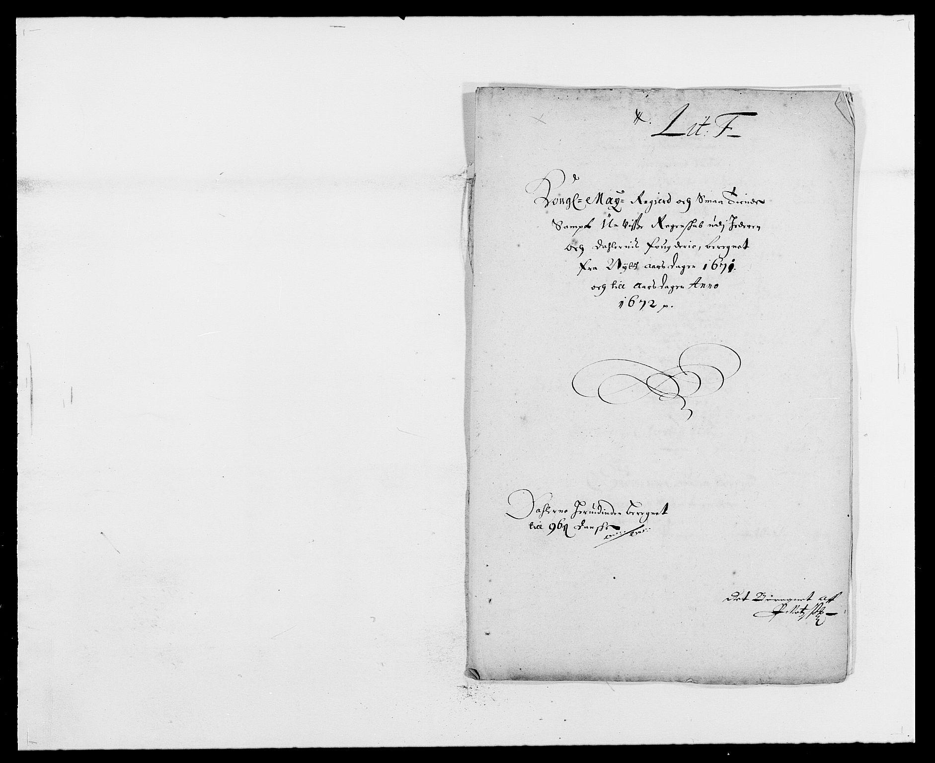 RA, Rentekammeret inntil 1814, Reviderte regnskaper, Fogderegnskap, R46/L2713: Fogderegnskap Jæren og Dalane, 1671-1672, s. 116