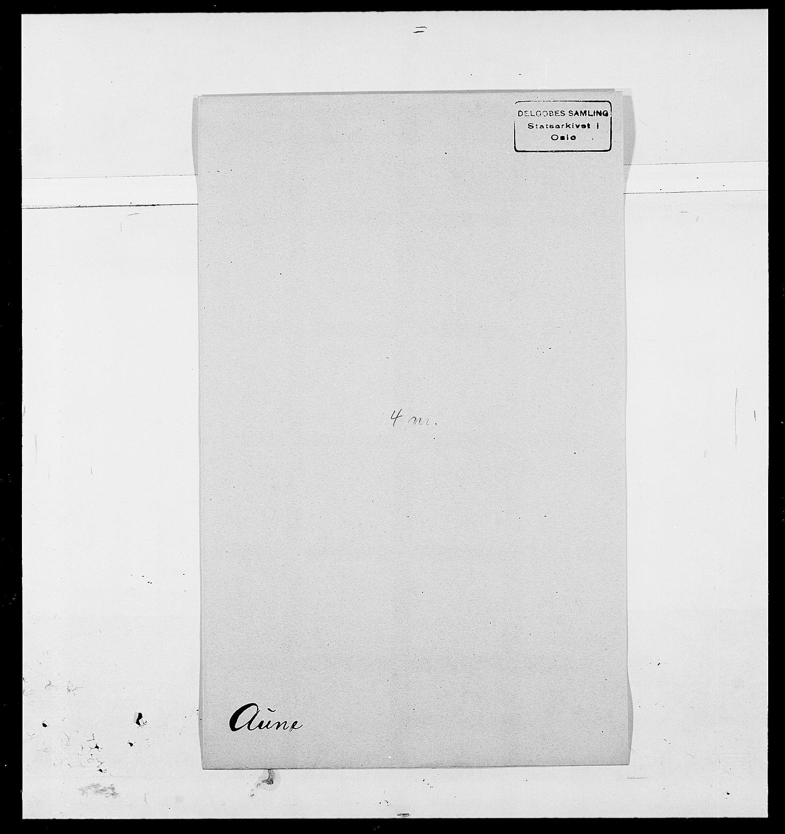 SAO, Delgobe, Charles Antoine - samling, D/Da/L0002: Anker, Ancher - Bauner, s. 517