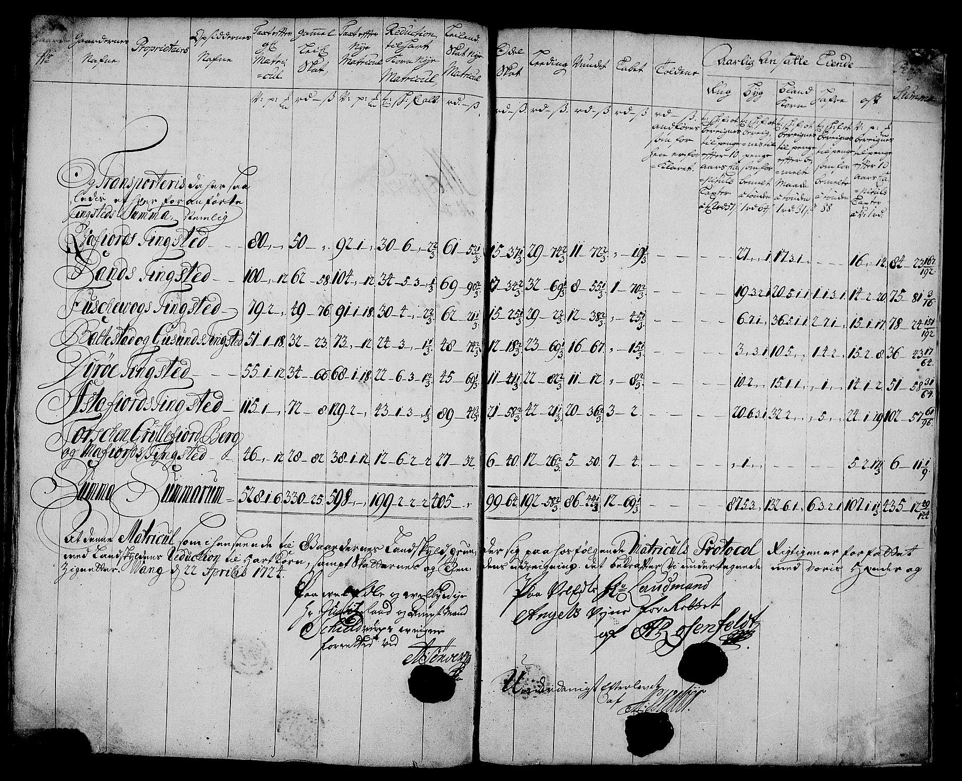 RA, Rentekammeret inntil 1814, Realistisk ordnet avdeling, N/Nb/Nbf/L0179: Senja matrikkelprotokoll, 1723, s. 116b-117a