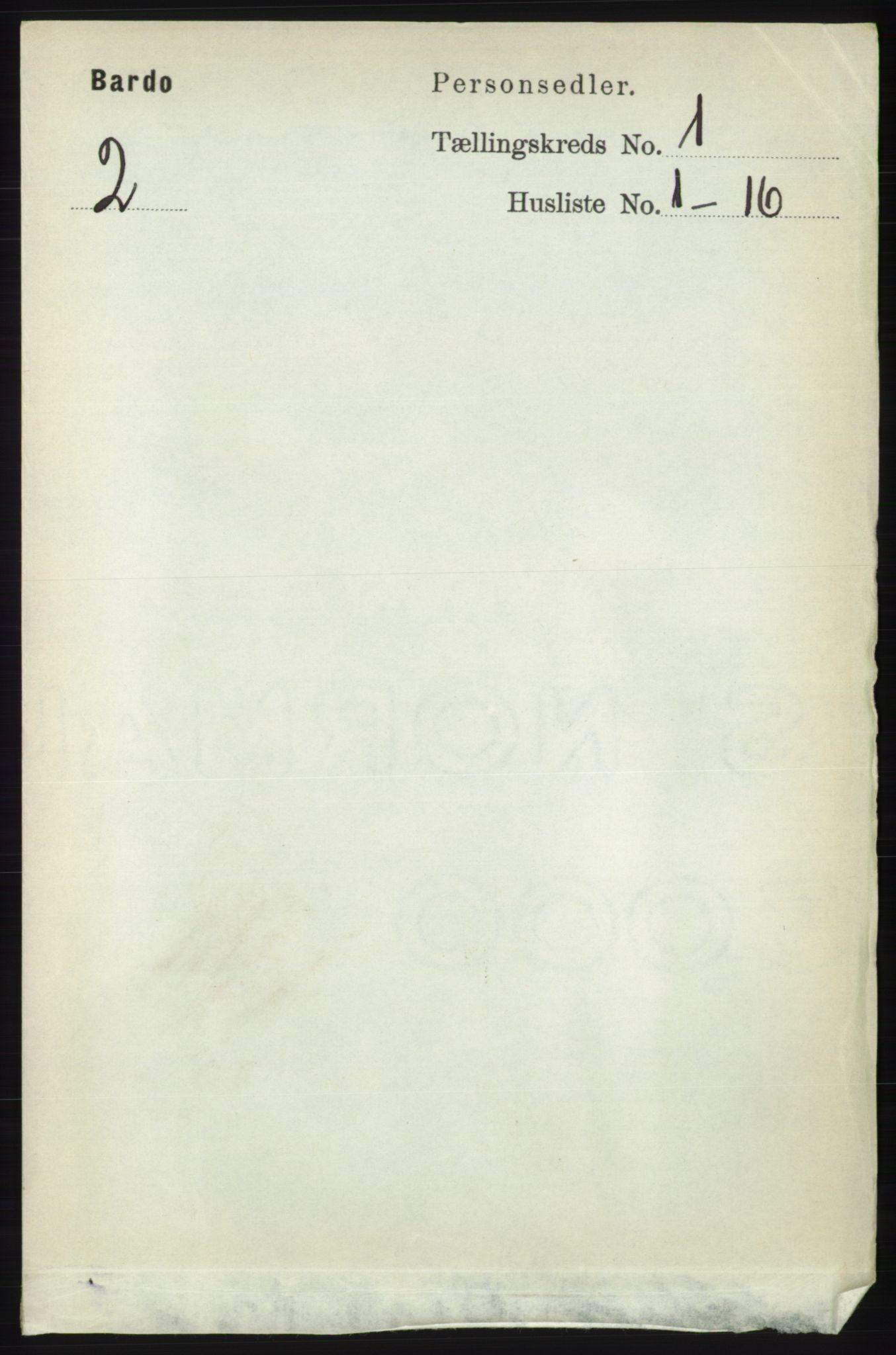 RA, Folketelling 1891 for 1922 Bardu herred, 1891, s. 57
