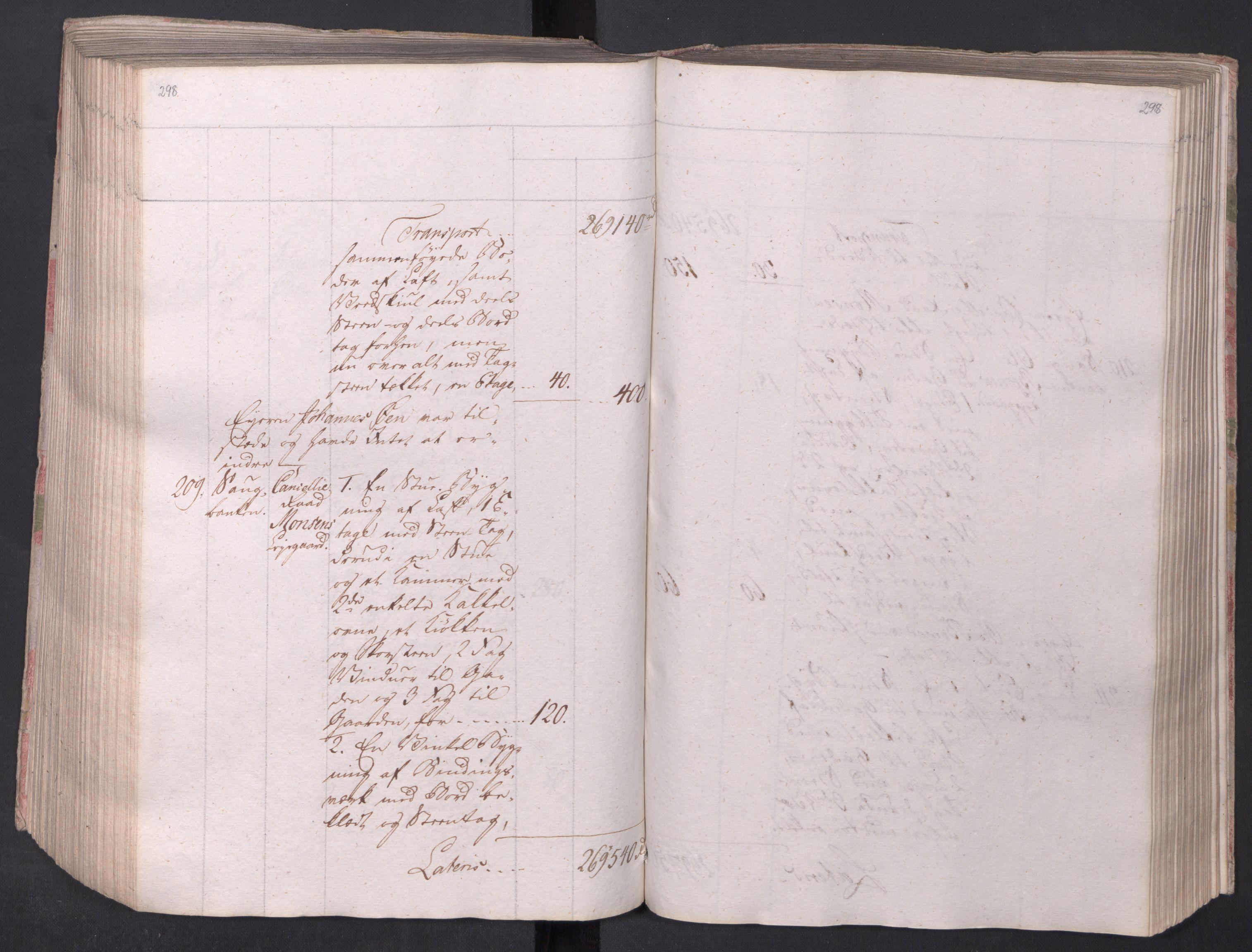 SAO, Kristiania stiftamt, I/Ia/L0015: Branntakster, 1797, s. 298