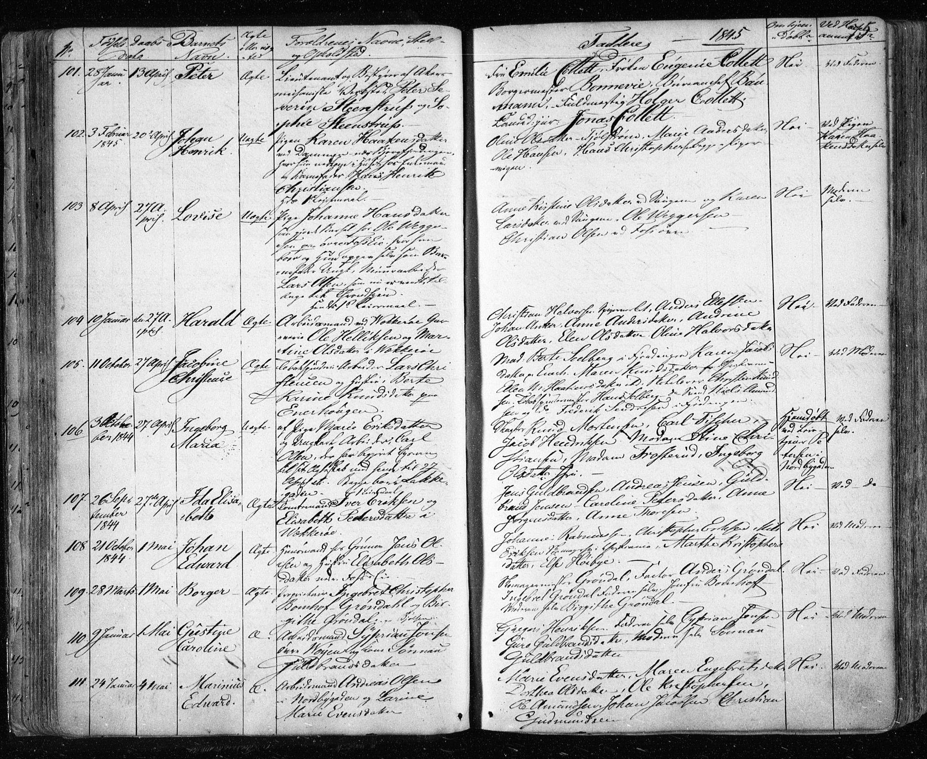 SAO, Aker prestekontor kirkebøker, F/L0019: Ministerialbok nr. 19, 1842-1852, s. 75