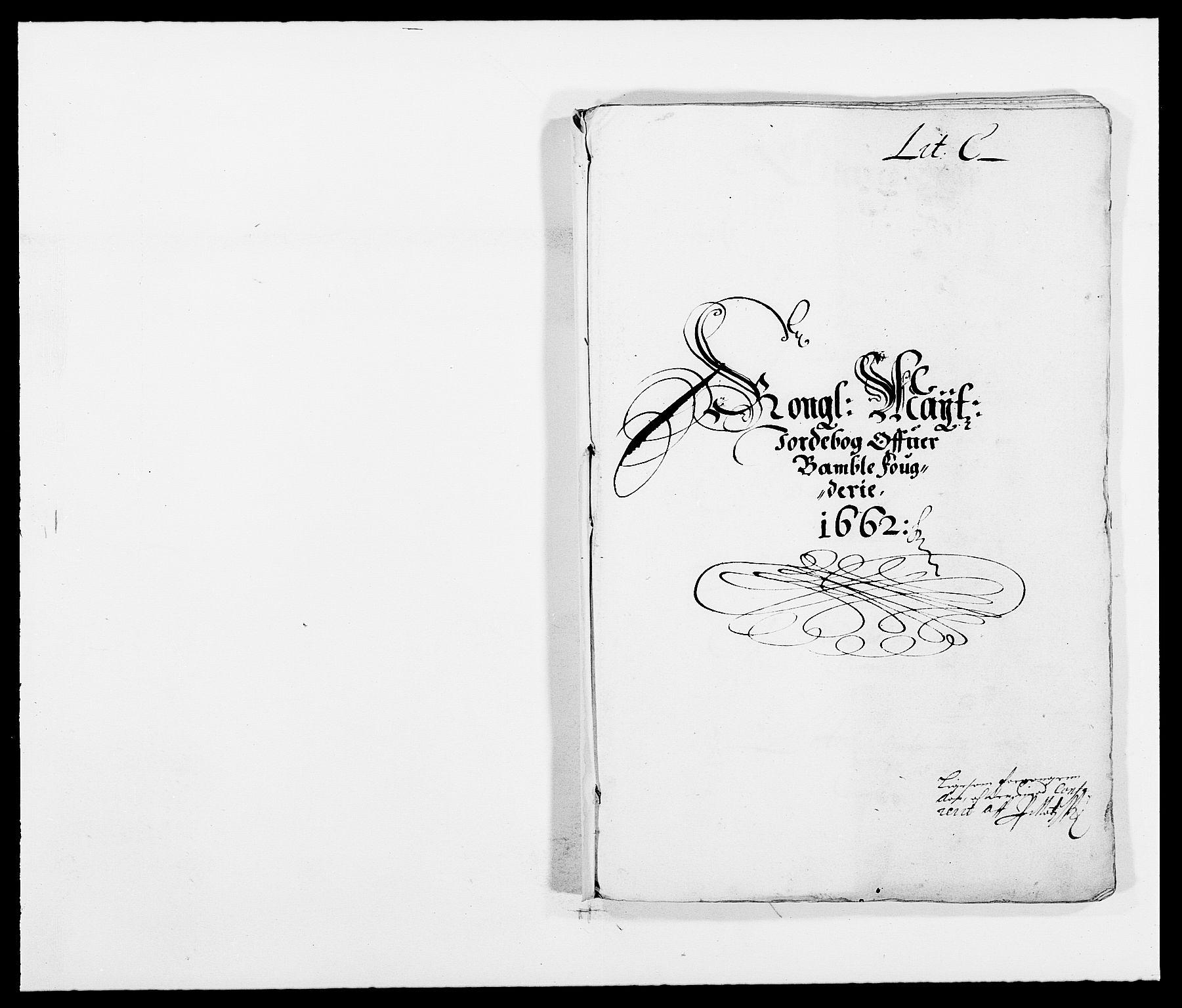 RA, Rentekammeret inntil 1814, Reviderte regnskaper, Fogderegnskap, R34/L2037: Fogderegnskap Bamble, 1662-1669, s. 76