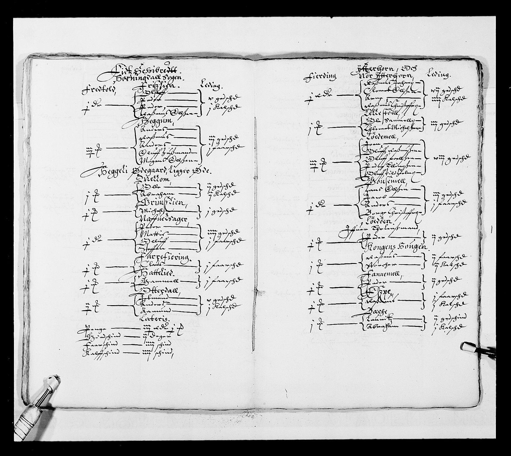 RA, Stattholderembetet 1572-1771, Ek/L0025: Jordebøker 1633-1658:, 1645-1646, s. 212