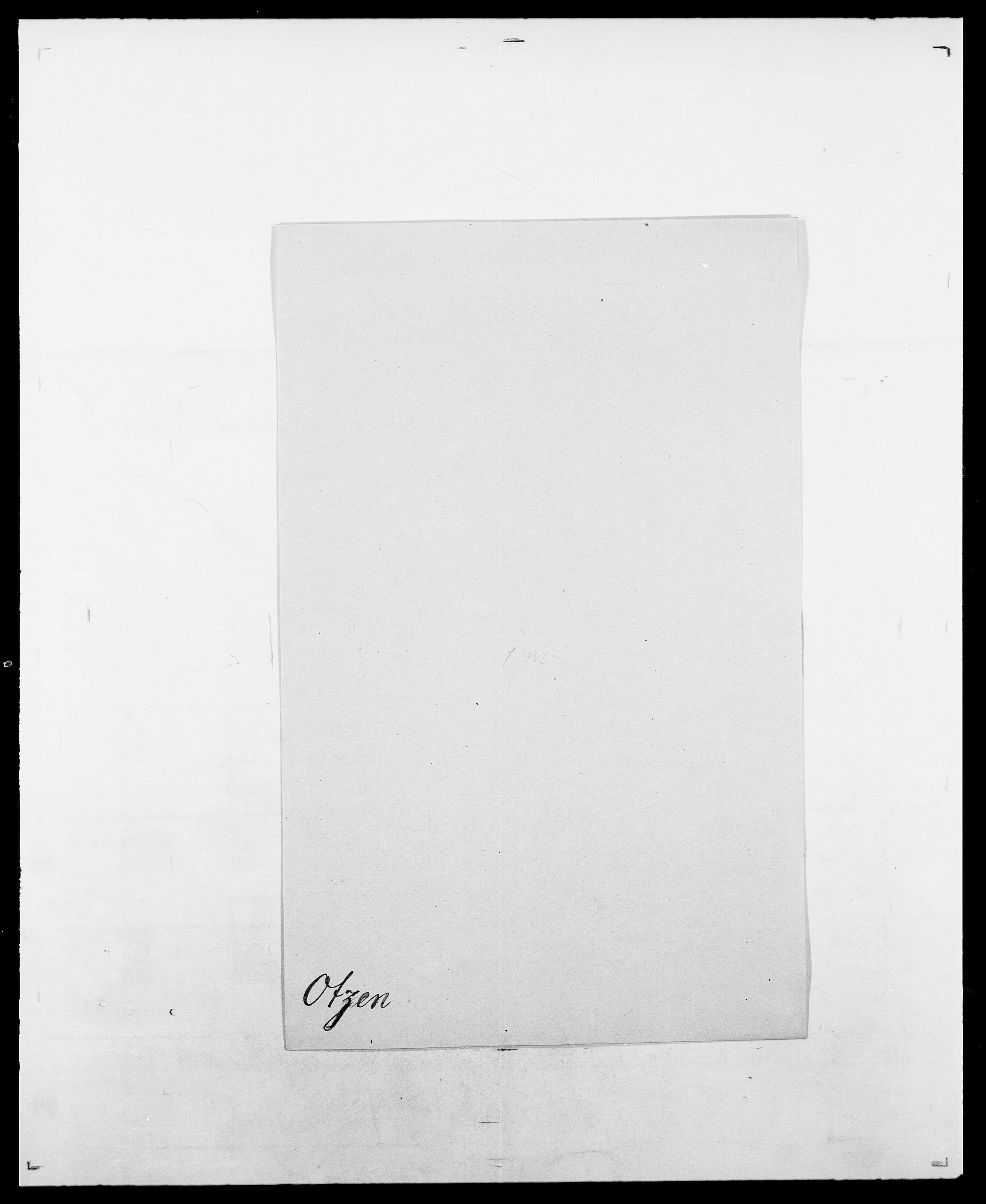 SAO, Delgobe, Charles Antoine - samling, D/Da/L0029: Obel - Oxholm, s. 485
