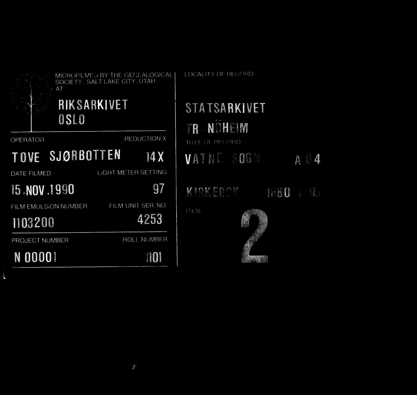 SAT, Ministerialprotokoller, klokkerbøker og fødselsregistre - Møre og Romsdal, 525/L0374: Ministerialbok nr. 525A04, 1880-1899
