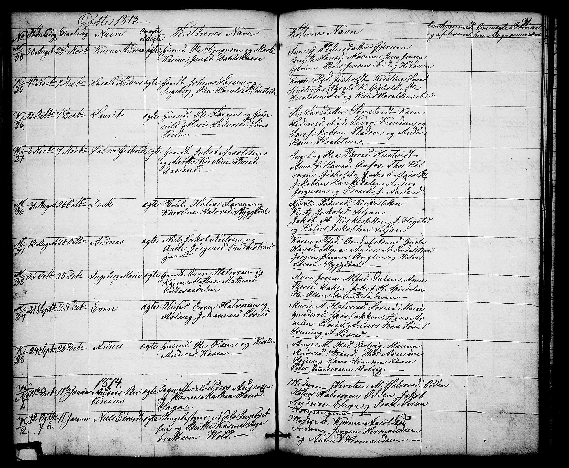 SAKO, Solum kirkebøker, G/Gb/L0002: Klokkerbok nr. II 2, 1859-1879, s. 91