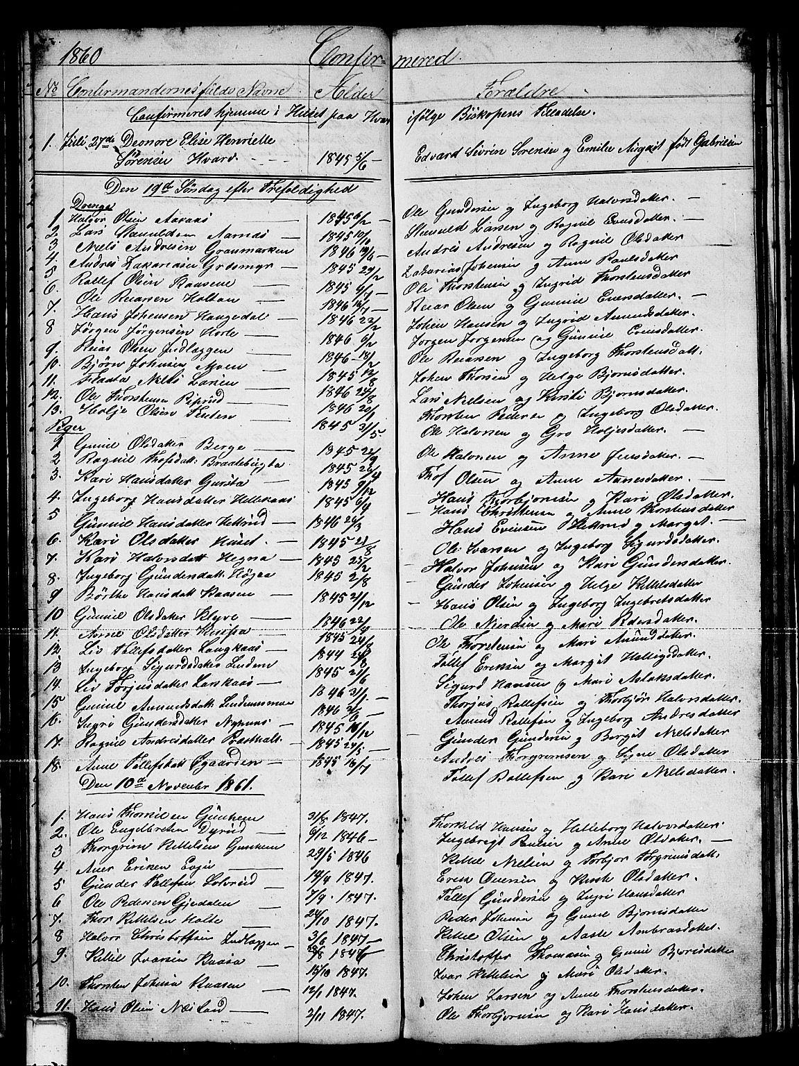SAKO, Sauherad kirkebøker, G/Gb/L0001: Klokkerbok nr. II 1, 1845-1865, s. 68