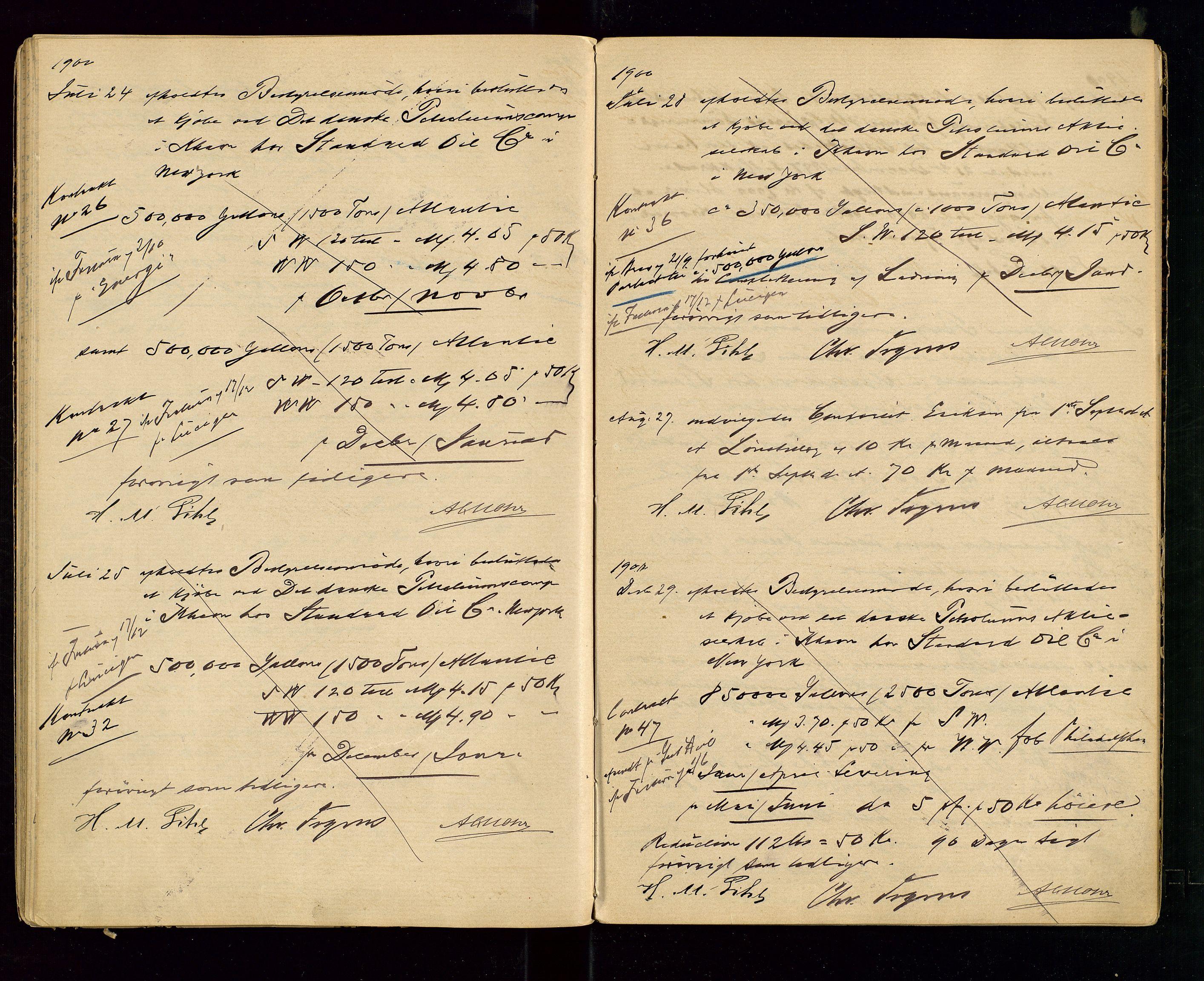 SAST, PA 1533 - A/S Vestlandske Petroleumscompani, A/Aa/L0001: Generalforsamlinger og styreprotokoller, 1890-1907, s. 41