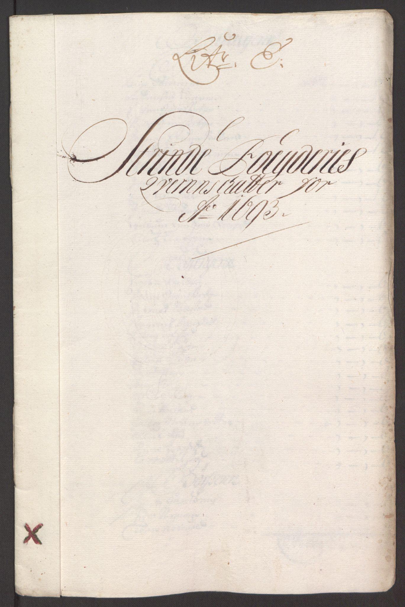 RA, Rentekammeret inntil 1814, Reviderte regnskaper, Fogderegnskap, R61/L4104: Fogderegnskap Strinda og Selbu, 1693-1694, s. 69