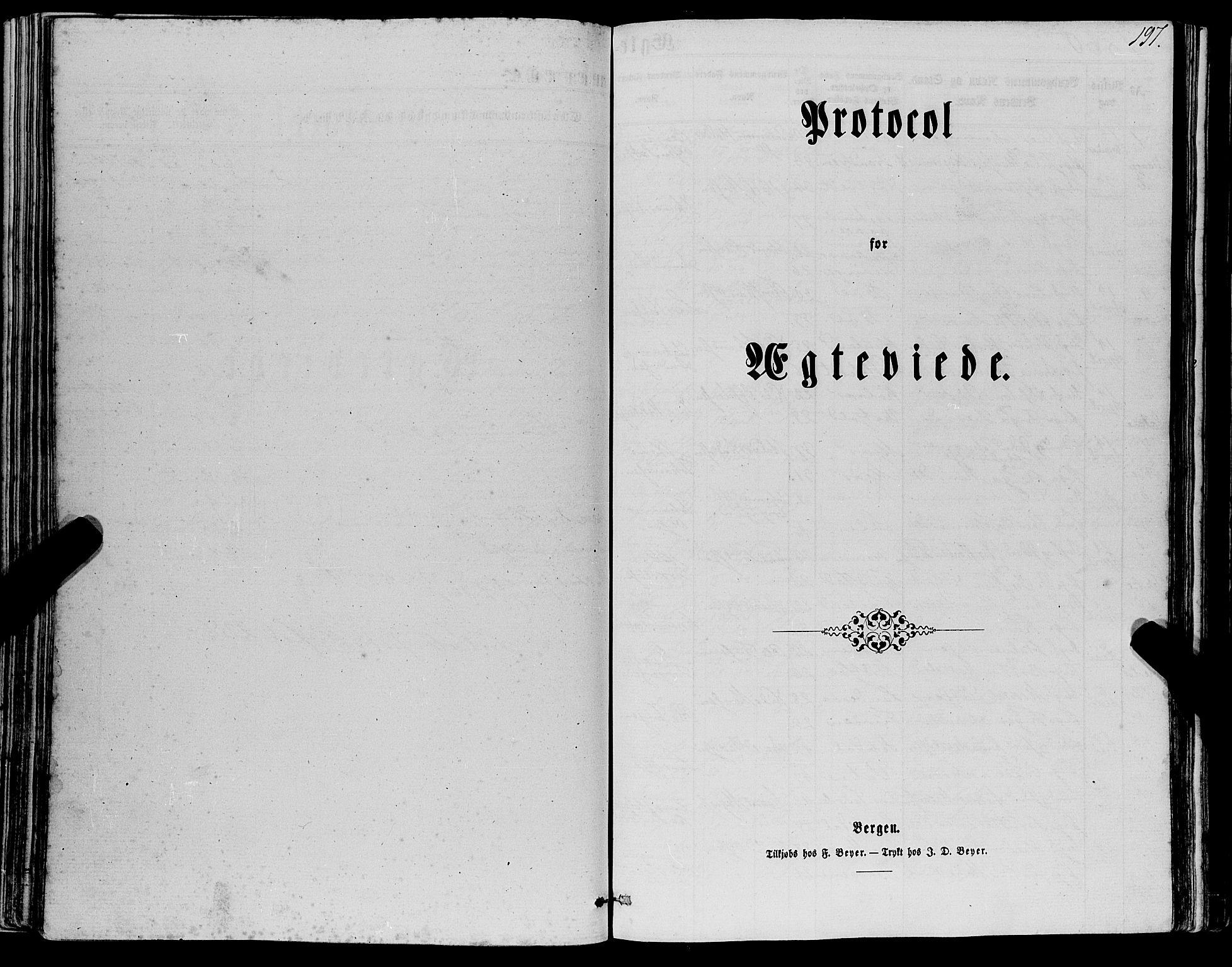 SAB, Manger sokneprestembete, H/Haa: Ministerialbok nr. A 7, 1860-1870, s. 197