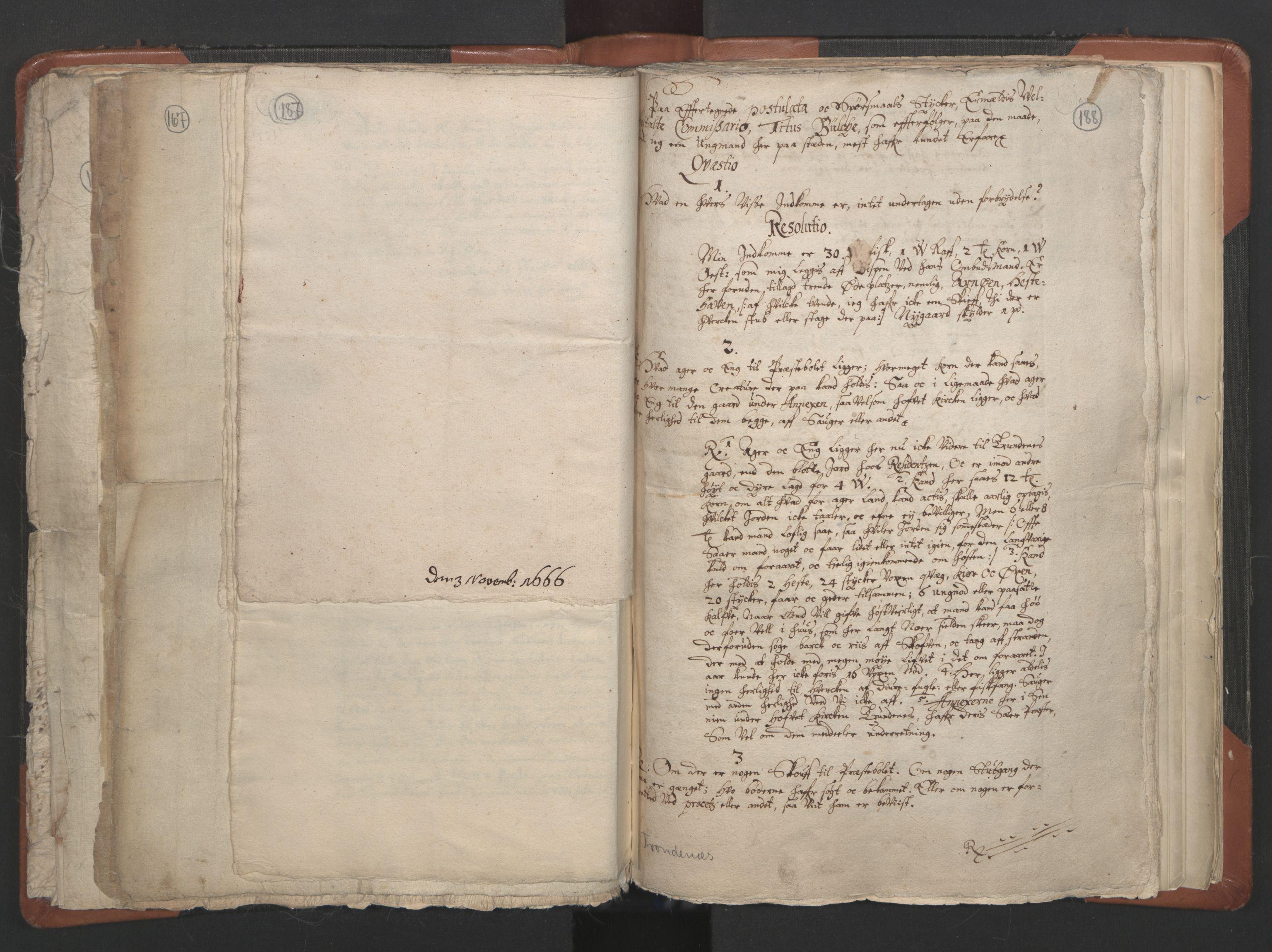 RA, Sogneprestenes manntall 1664-1666, nr. 36: Lofoten og Vesterålen prosti, Senja prosti og Troms prosti, 1664-1666, s. 187-188