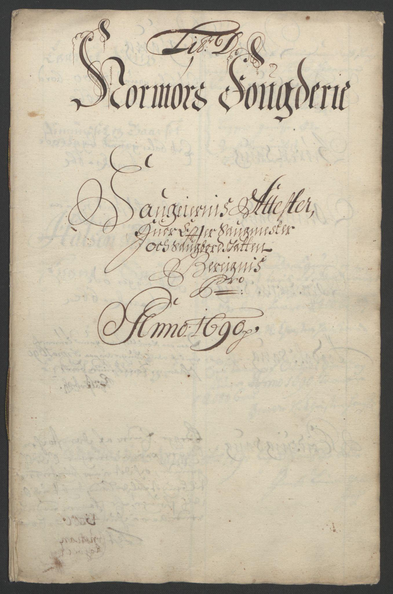 RA, Rentekammeret inntil 1814, Reviderte regnskaper, Fogderegnskap, R56/L3734: Fogderegnskap Nordmøre, 1690-1691, s. 79