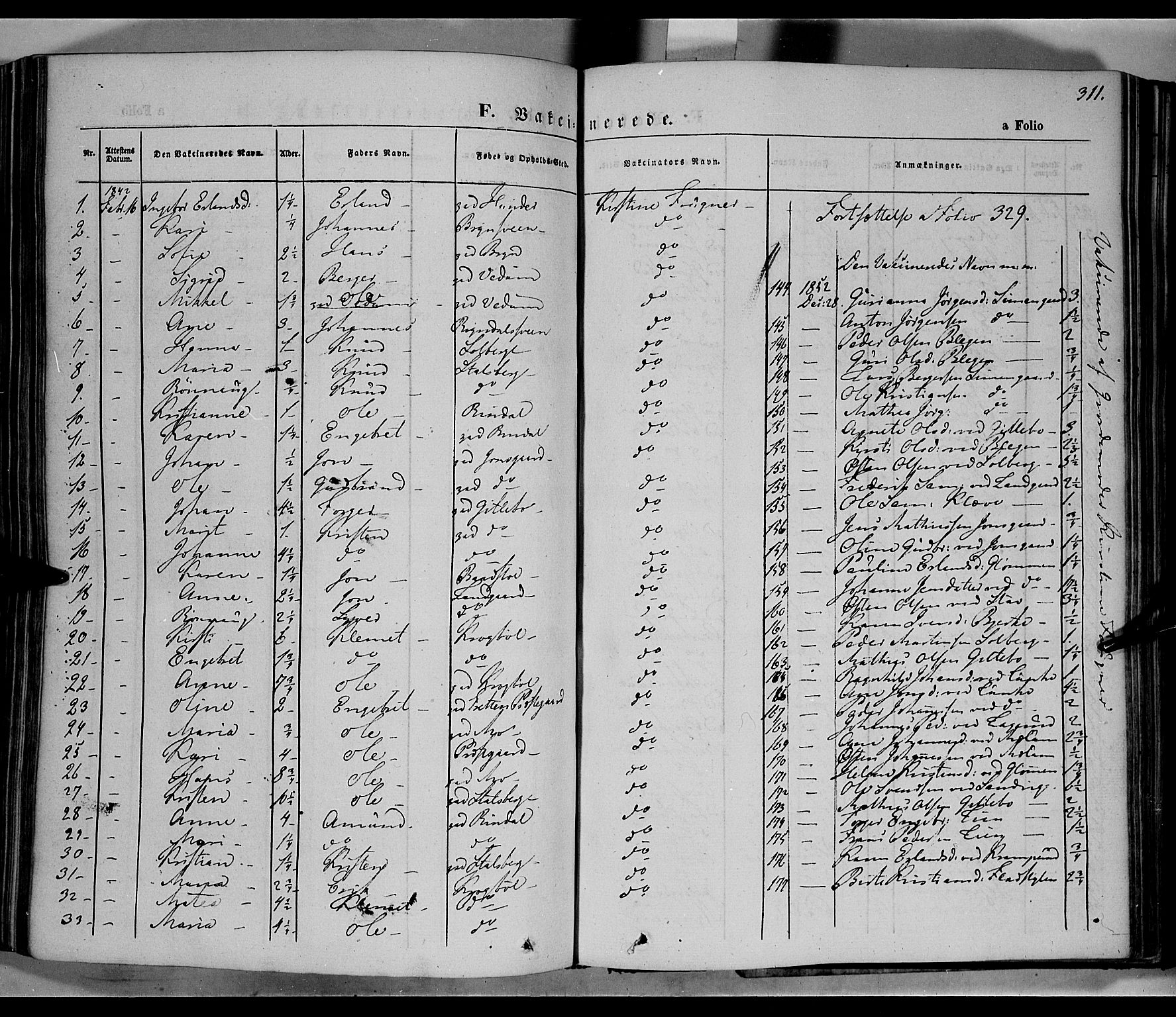 SAH, Øyer prestekontor, Ministerialbok nr. 5, 1842-1857, s. 311